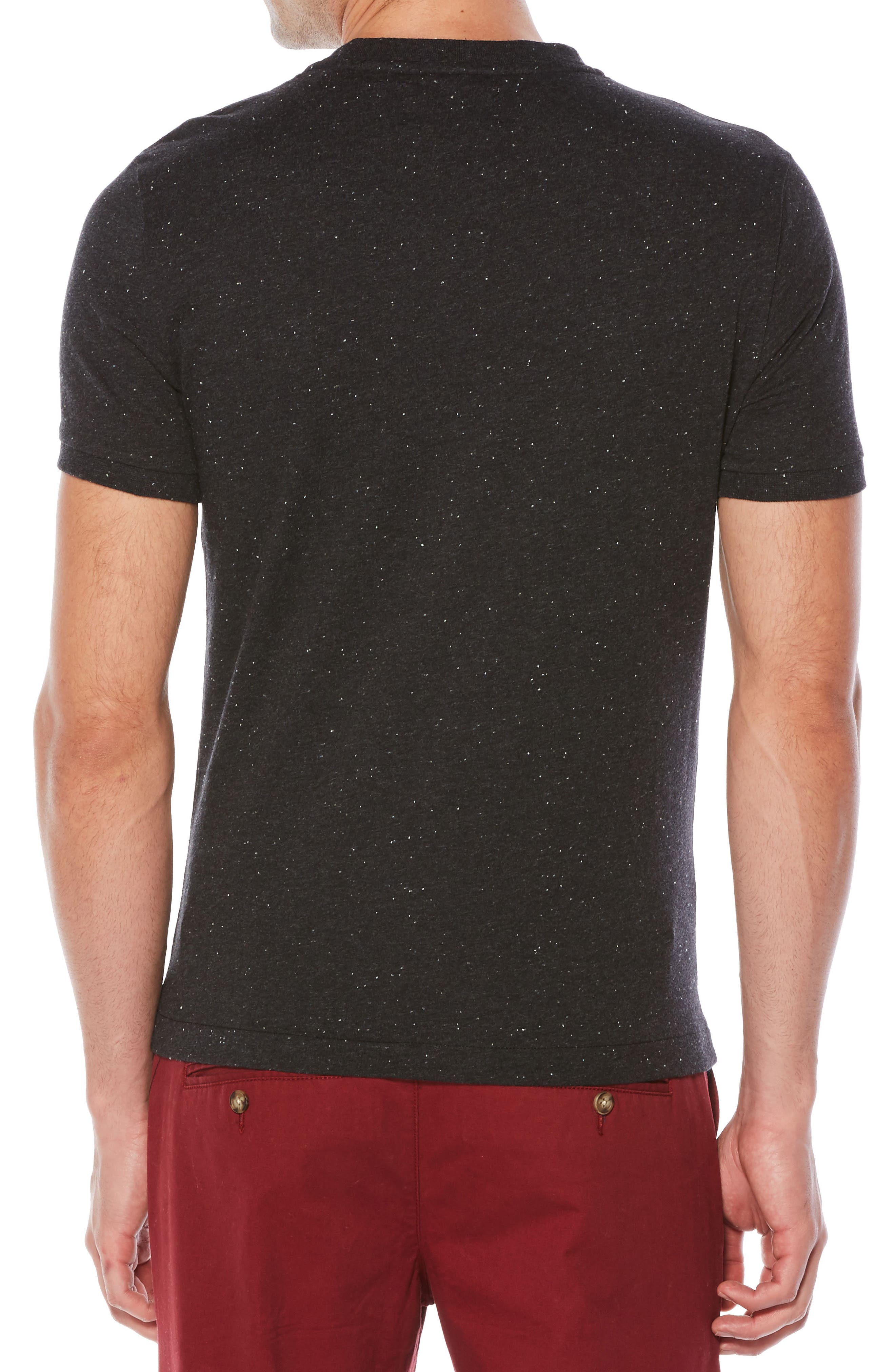 Nep Speckled T-Shirt,                             Alternate thumbnail 4, color,