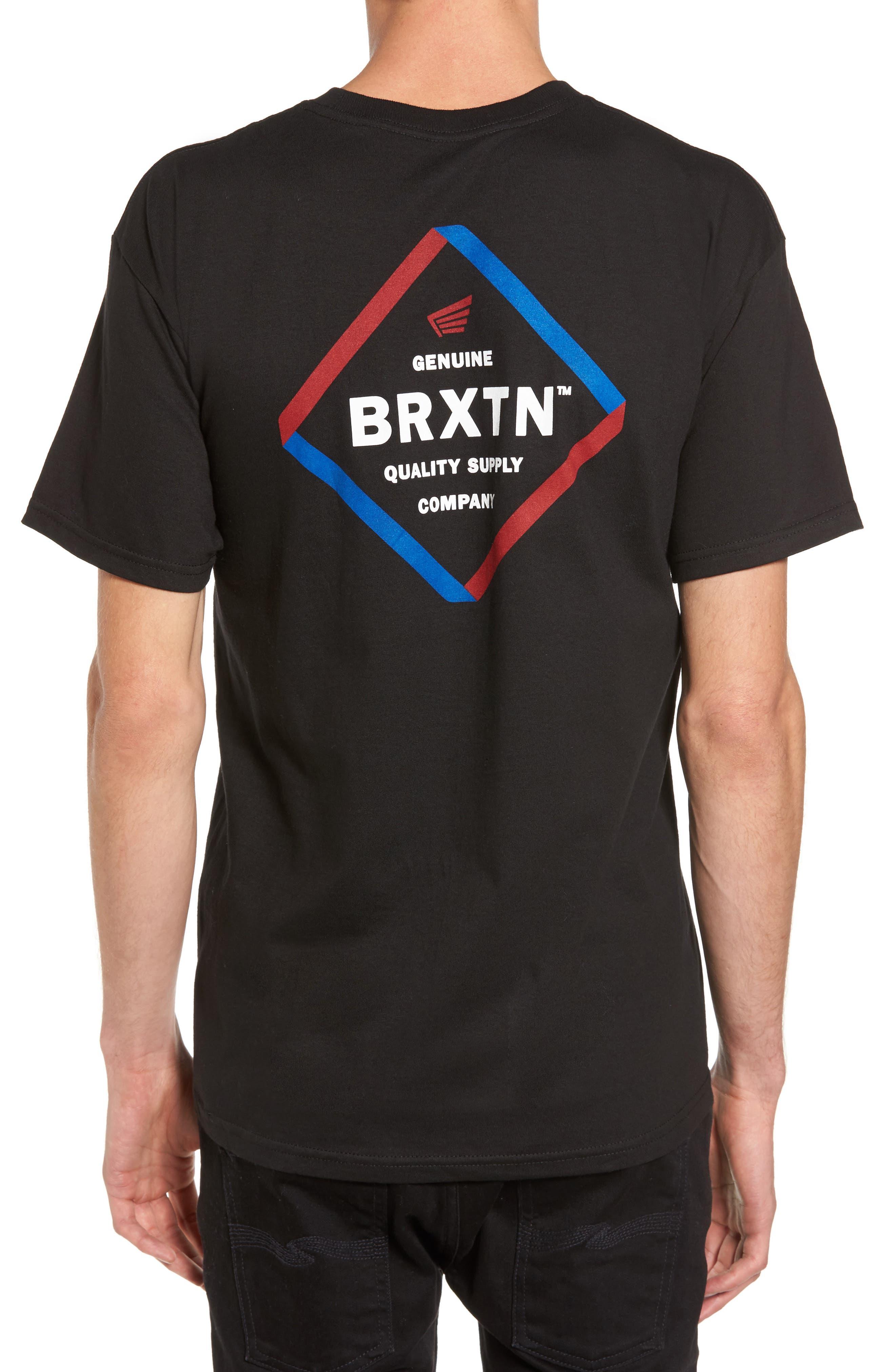 Peabody Standard T-Shirt,                             Alternate thumbnail 2, color,                             001