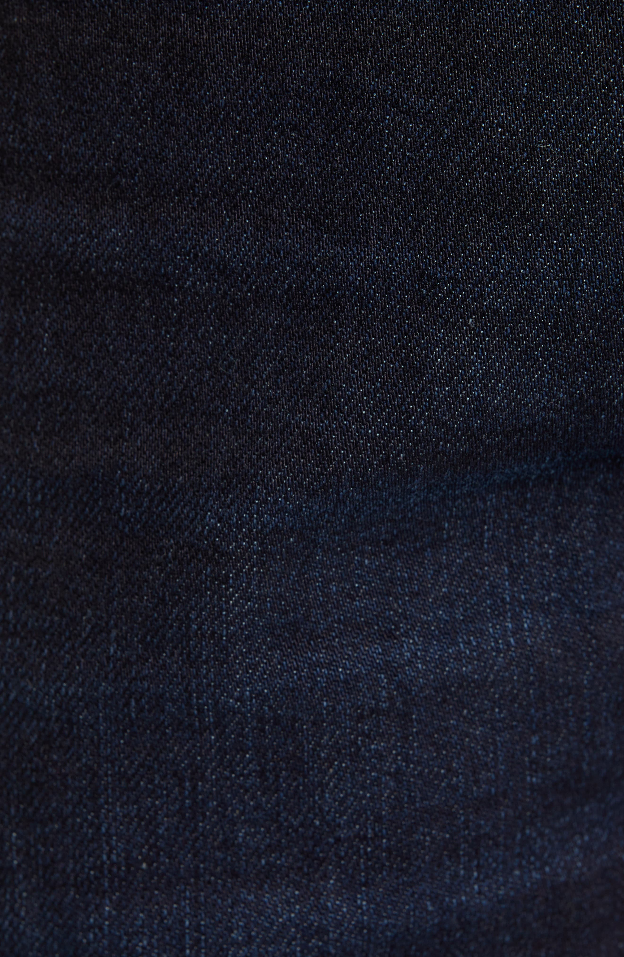Sharp Slim Fit Jeans,                             Alternate thumbnail 5, color,                             DARK INDIGO