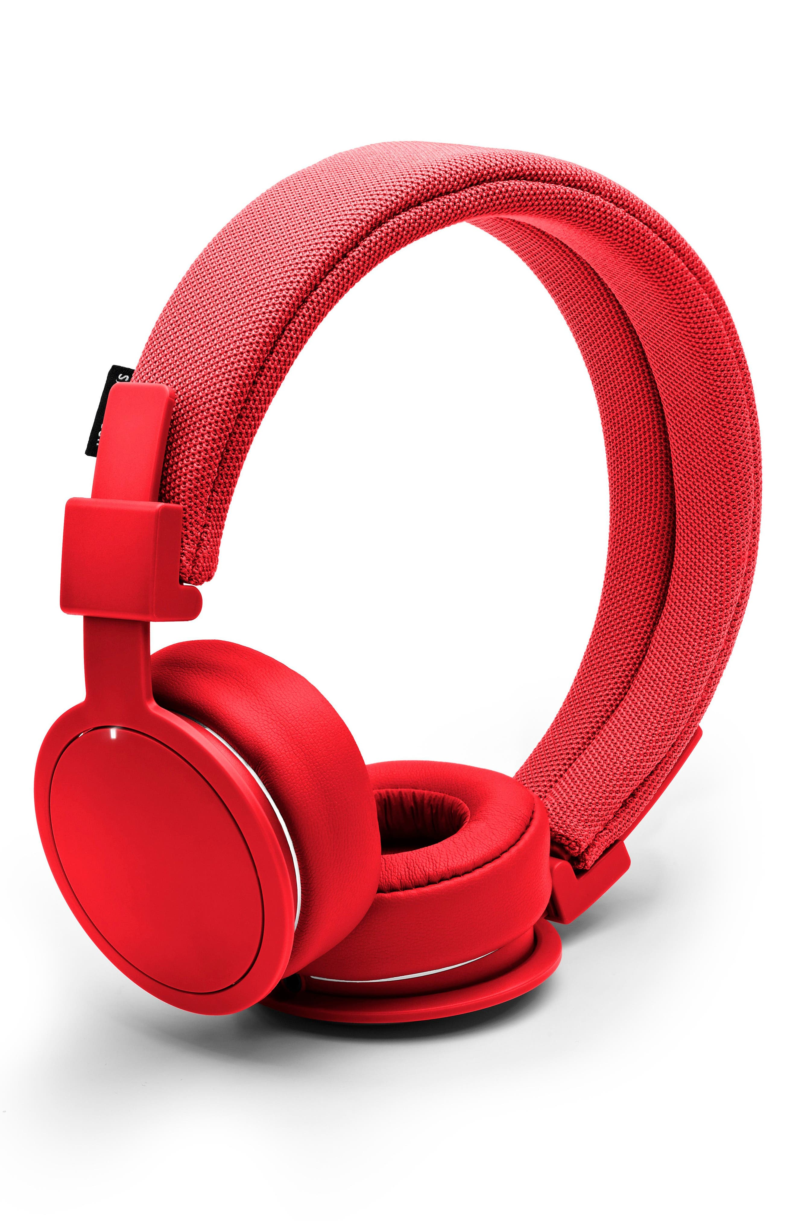 'Plattan ADV Wireless' Bluetooth<sup>®</sup> On-Ear Headphones,                             Alternate thumbnail 2, color,                             TOMATO