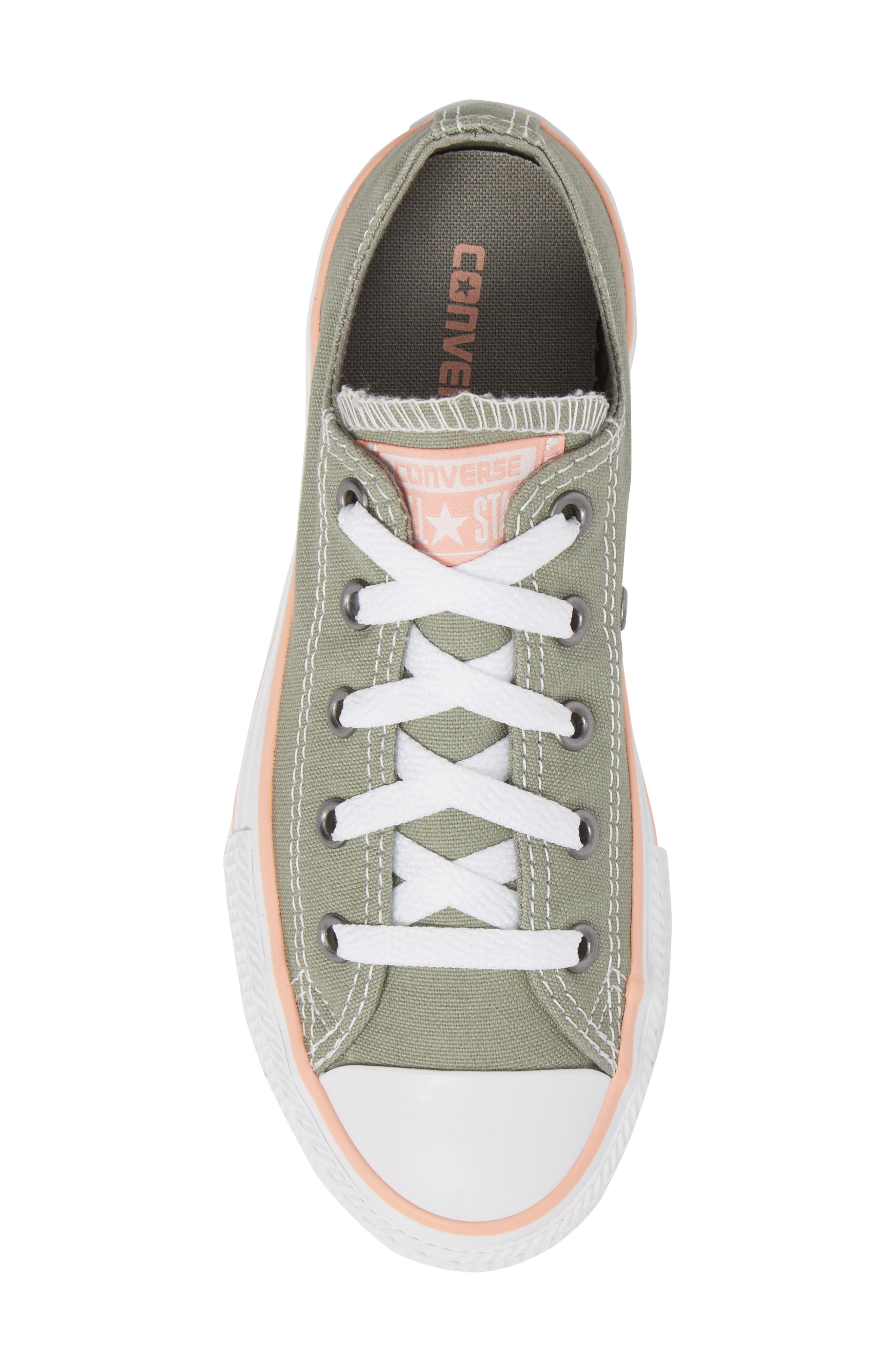 Chuck Taylor<sup>®</sup> All Star<sup>®</sup> Low Top Sneaker,                             Alternate thumbnail 9, color,