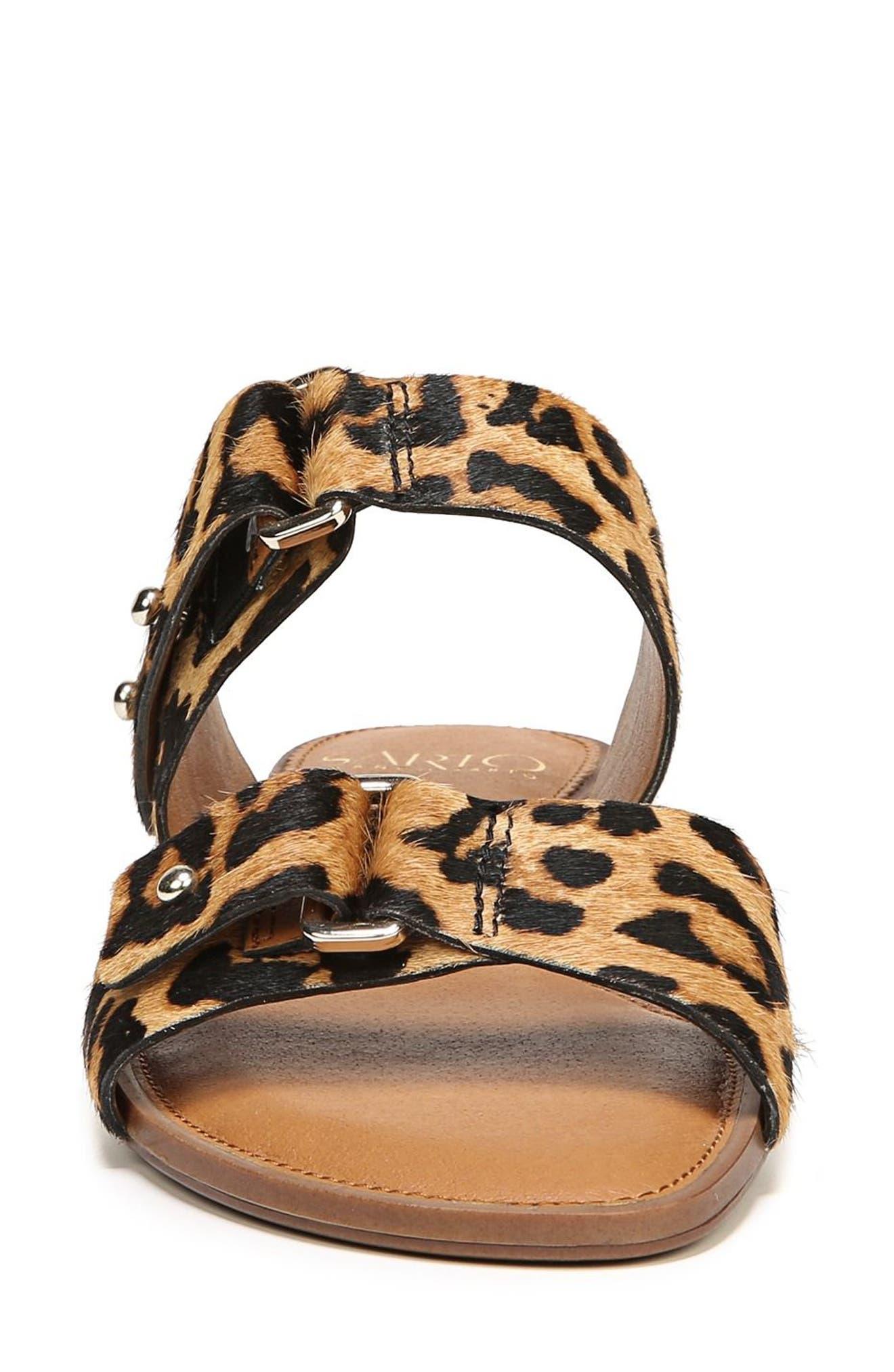 Palomino Genuine Calf Hair Sandal,                             Alternate thumbnail 18, color,