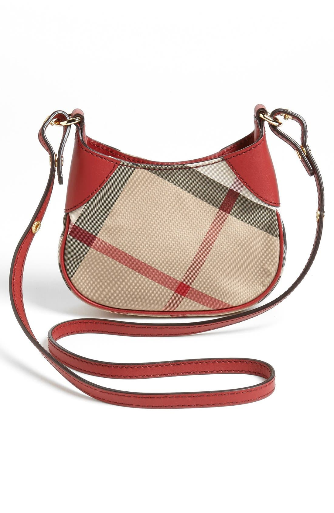 BURBERRY,                             Crossbody Bag,                             Alternate thumbnail 4, color,                             609