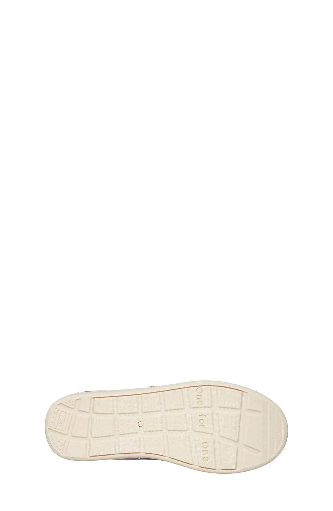 'Classic - Youth' Canvas Slip-On,                             Alternate thumbnail 8, color,