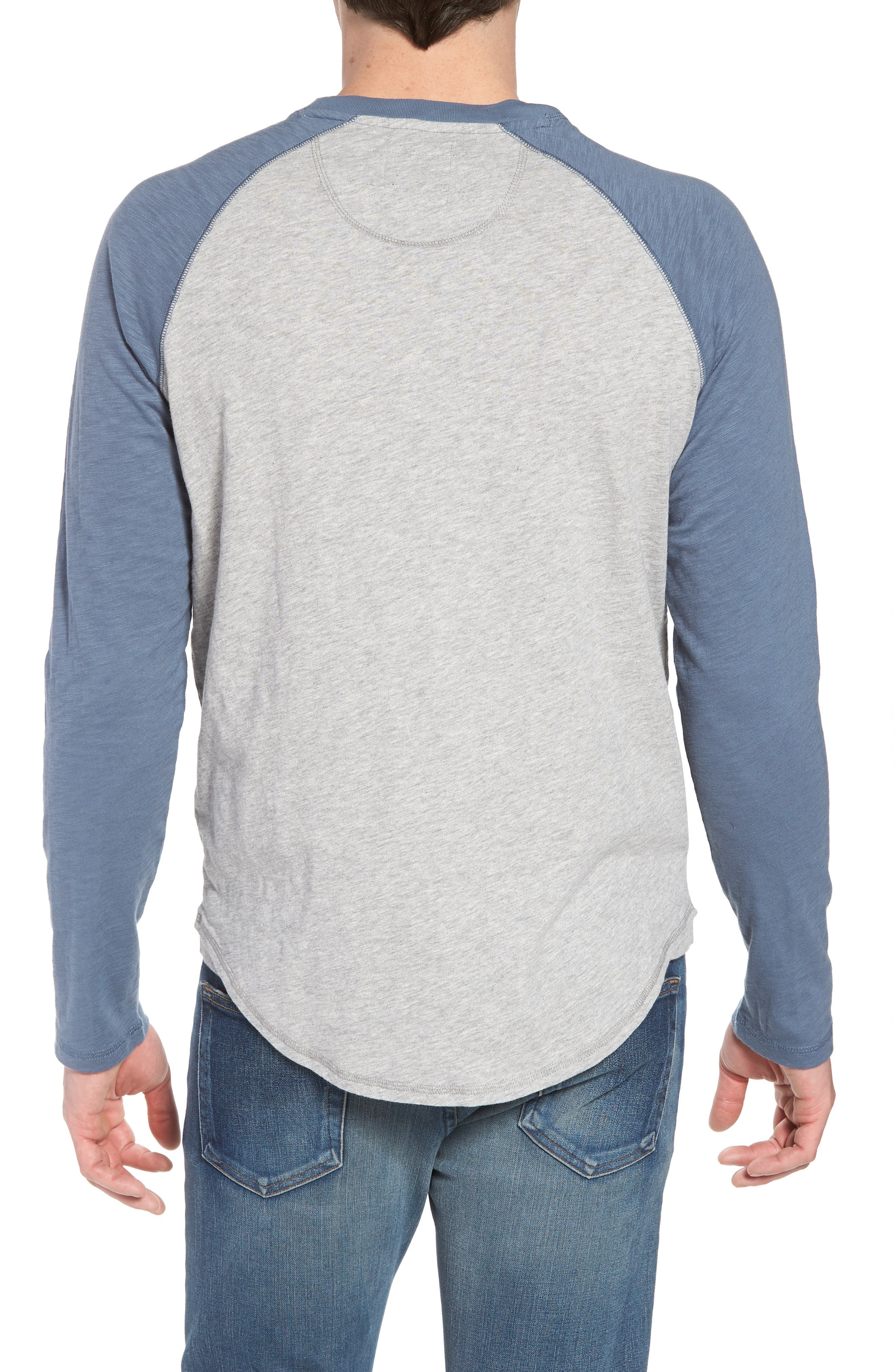 Vintage Raglan Shirt,                             Alternate thumbnail 6, color,