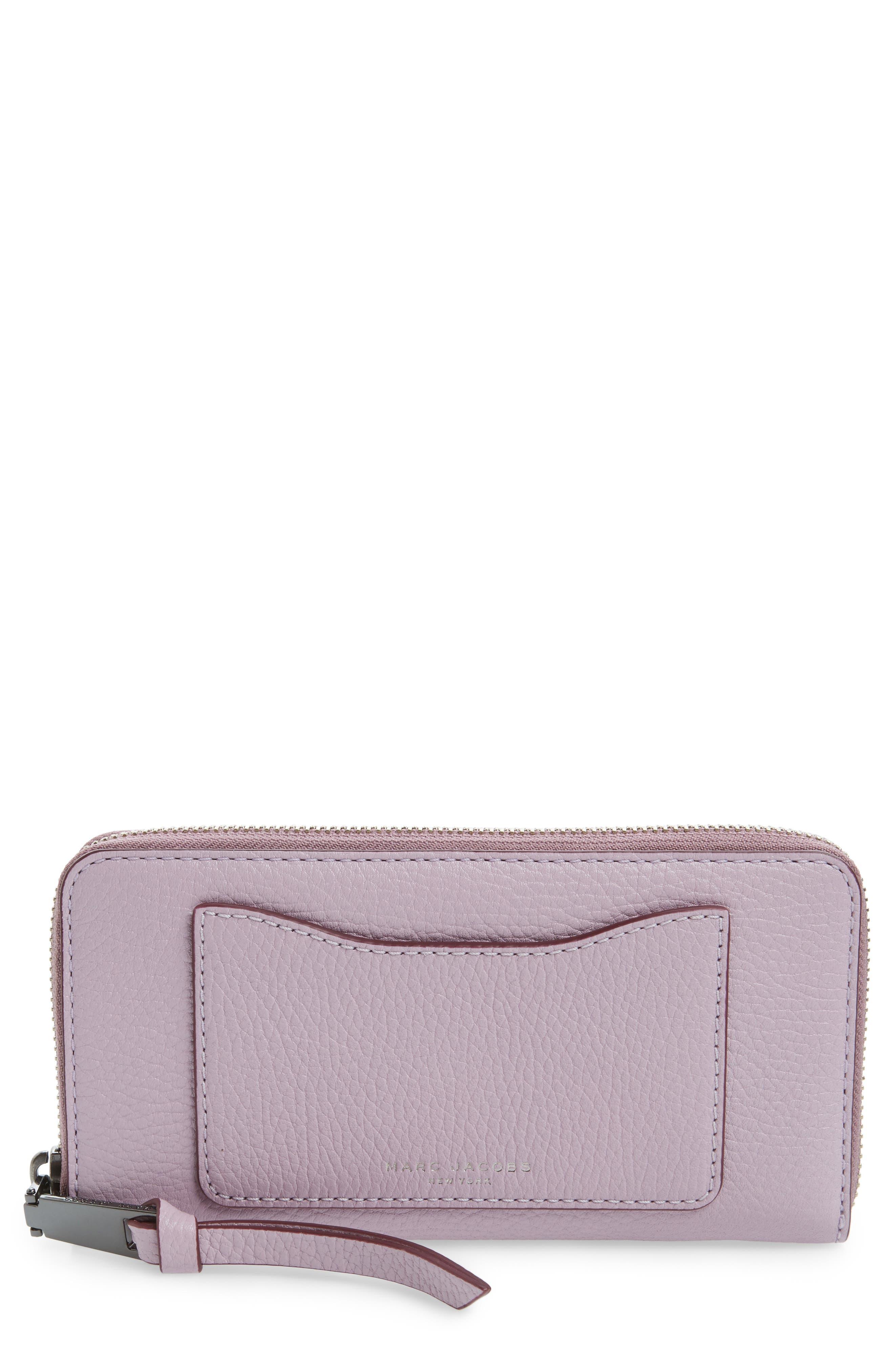 'Recruit Vertical' Leather Wallet,                         Main,                         color, 500