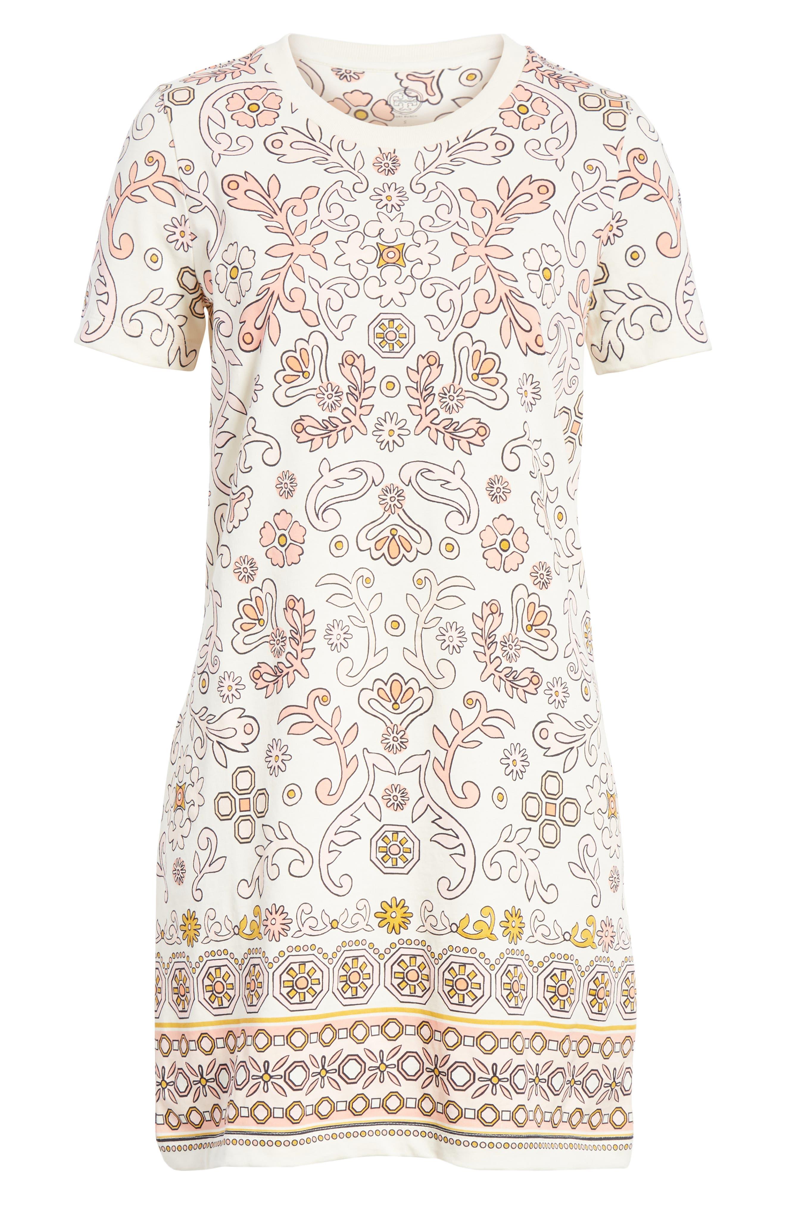 Avril Pima Cotton Dress,                             Alternate thumbnail 6, color,                             198