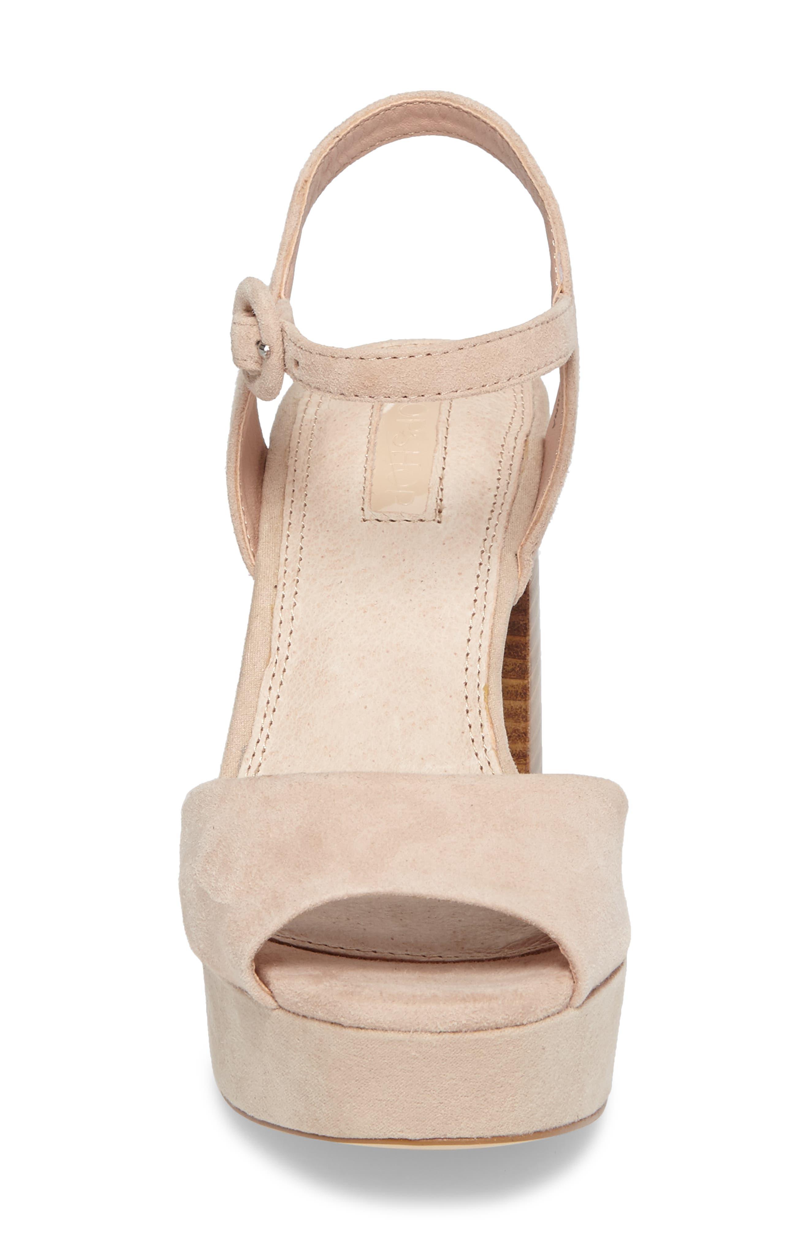 'Lana' Chunky Platform Sandal,                             Alternate thumbnail 4, color,                             250