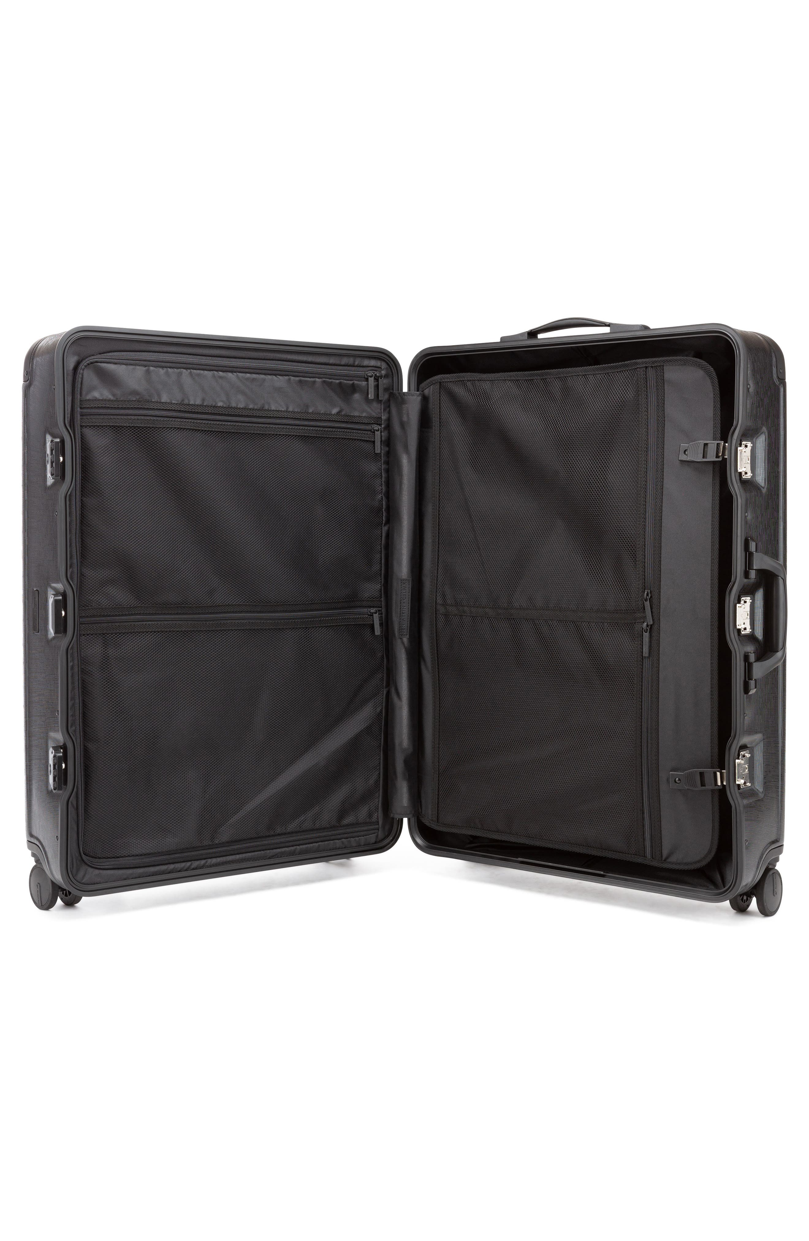 x Jen Atkin 29-Inch Suitcase,                             Alternate thumbnail 2, color,                             BLACK
