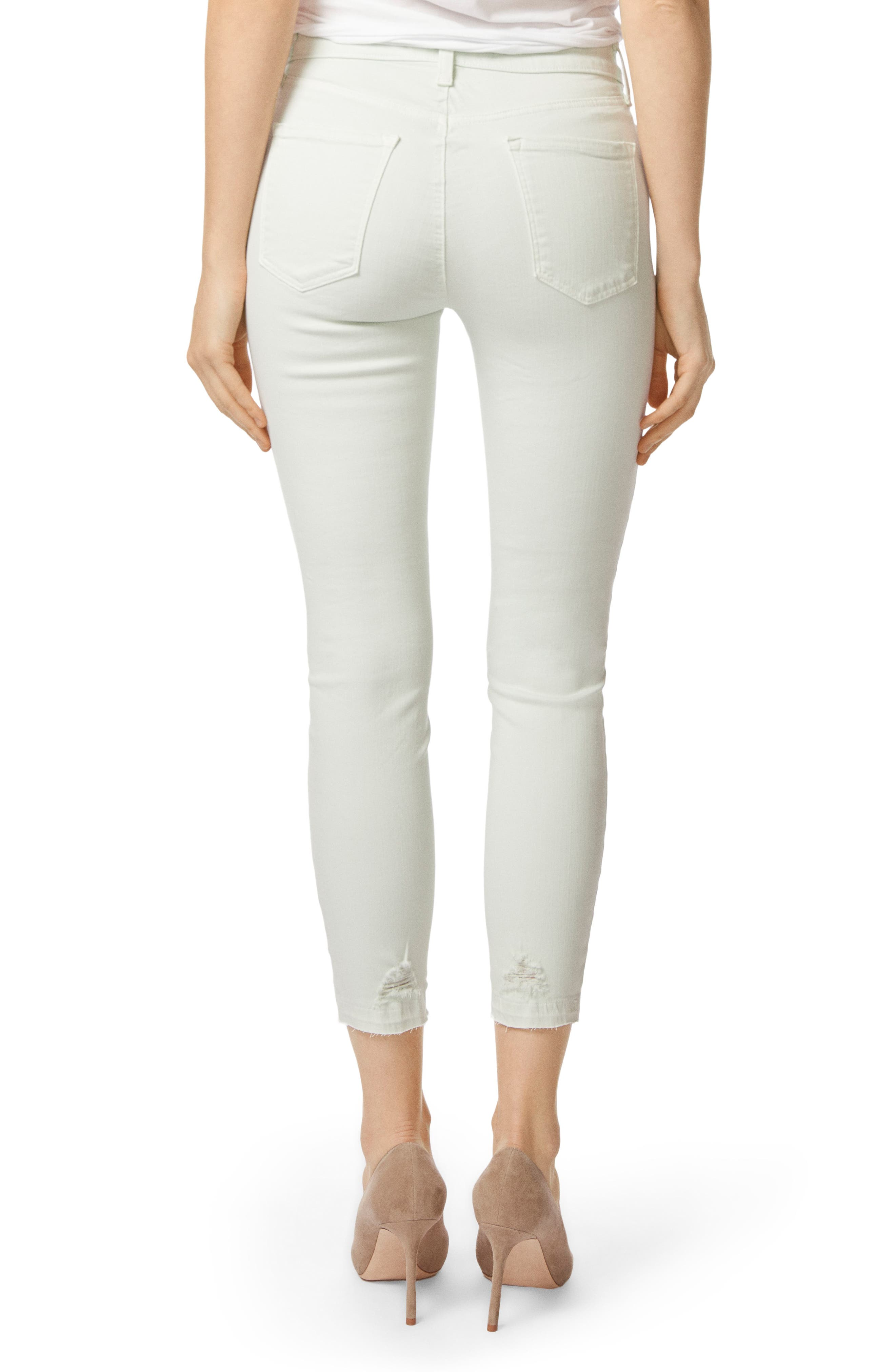 'Alana' High Rise Crop Skinny Jeans,                             Alternate thumbnail 2, color,                             336