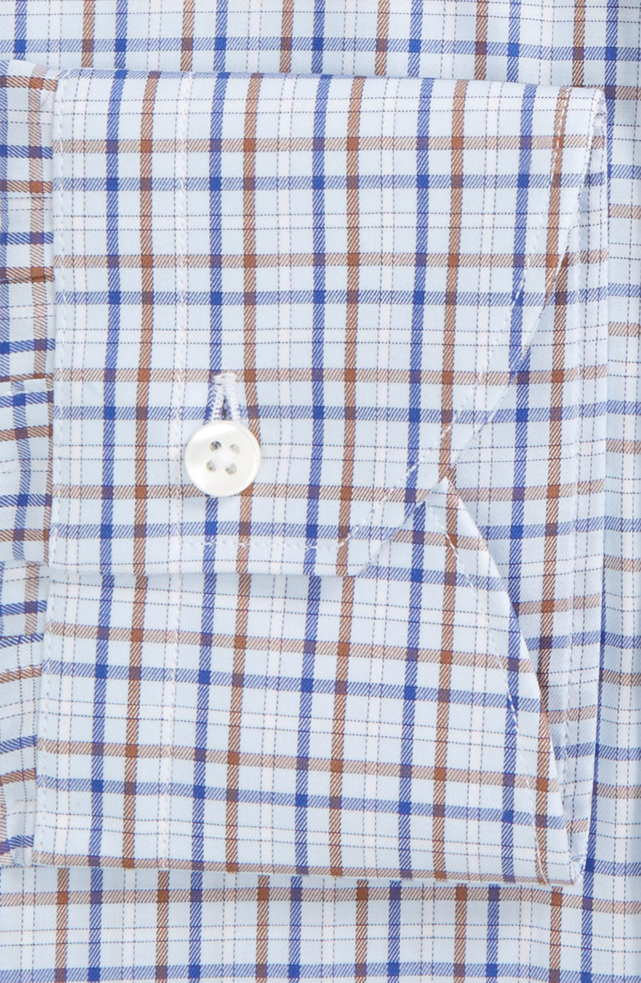 Regular Fit Check Dress Shirt,                             Alternate thumbnail 2, color,                             450