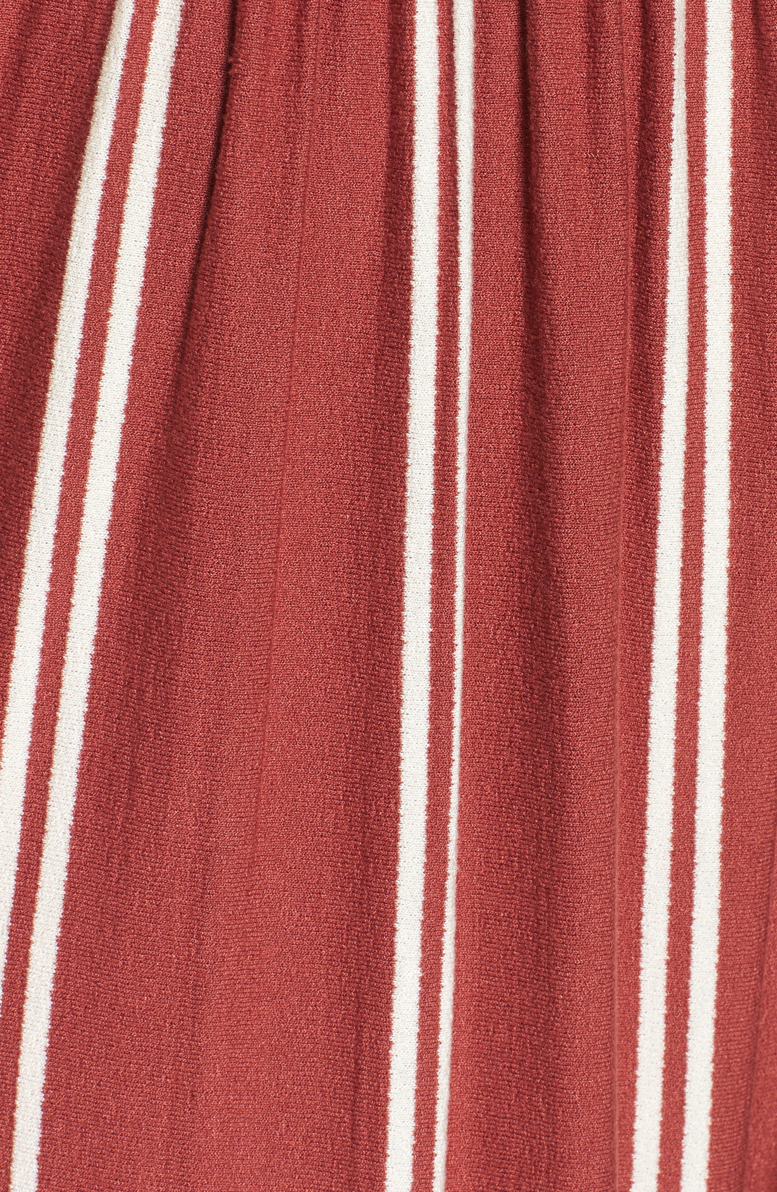 Smocked Ruffle Hem Jumpsuit,                             Alternate thumbnail 6, color,                             221