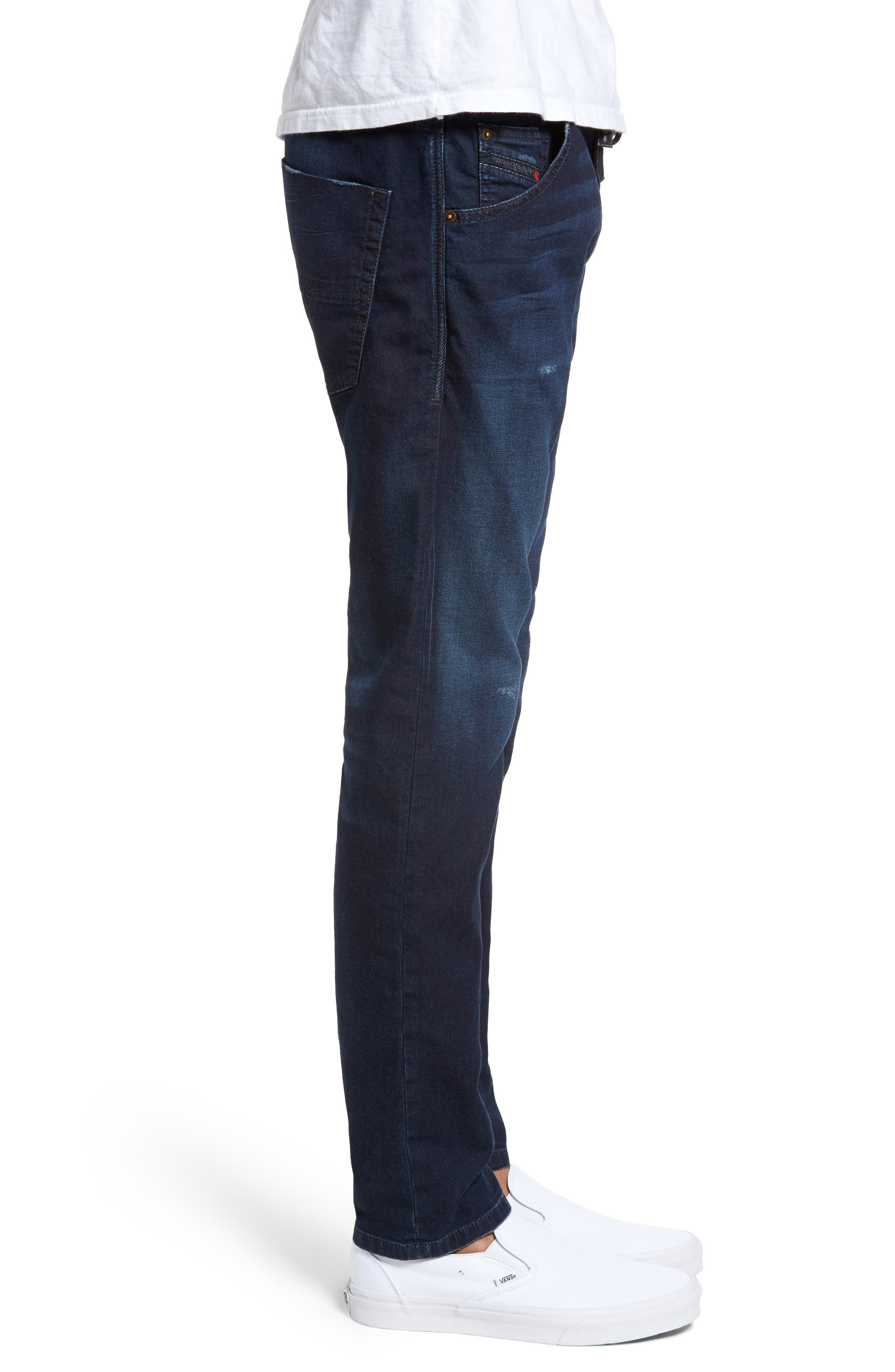 Krooley Slouchy Skinny Jeans,                             Alternate thumbnail 3, color,                             900
