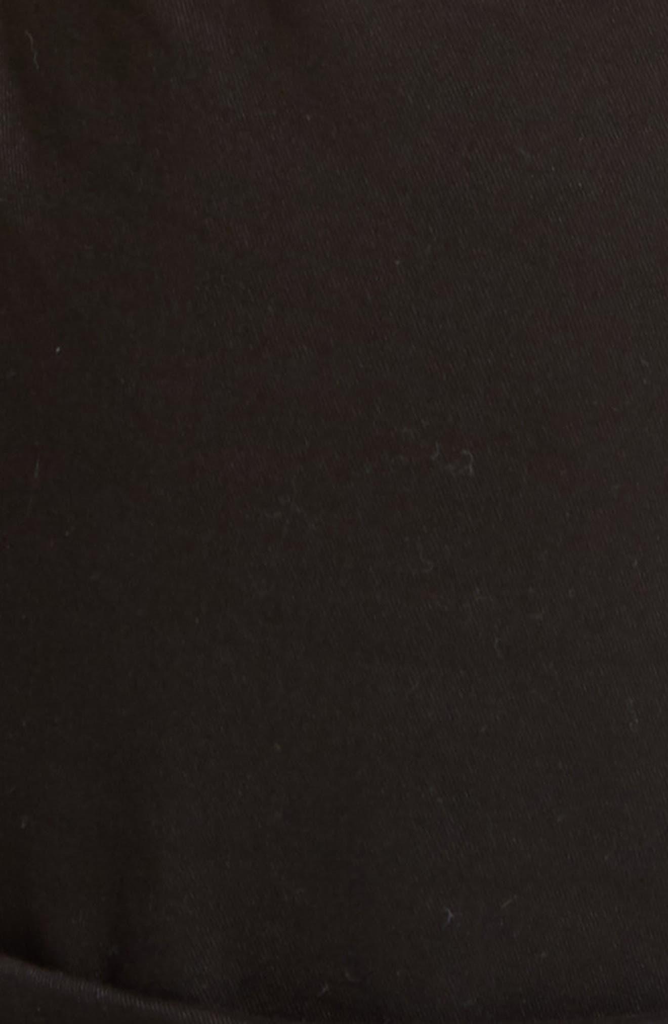 Le Sabre Slim Fit Jeans,                             Alternate thumbnail 5, color,                             BLACK
