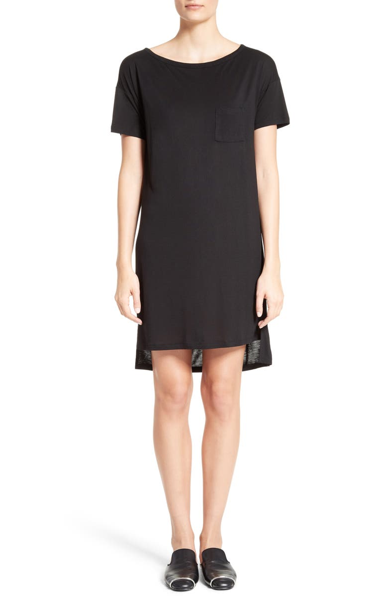 T By Alexander Wang Boatneck T Shirt Dress Nordstrom