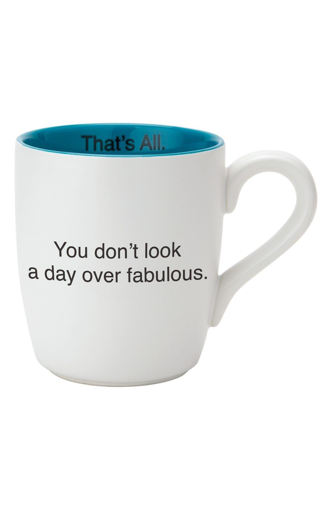 'Fabulous - That's All' Mug,                         Main,                         color, 100