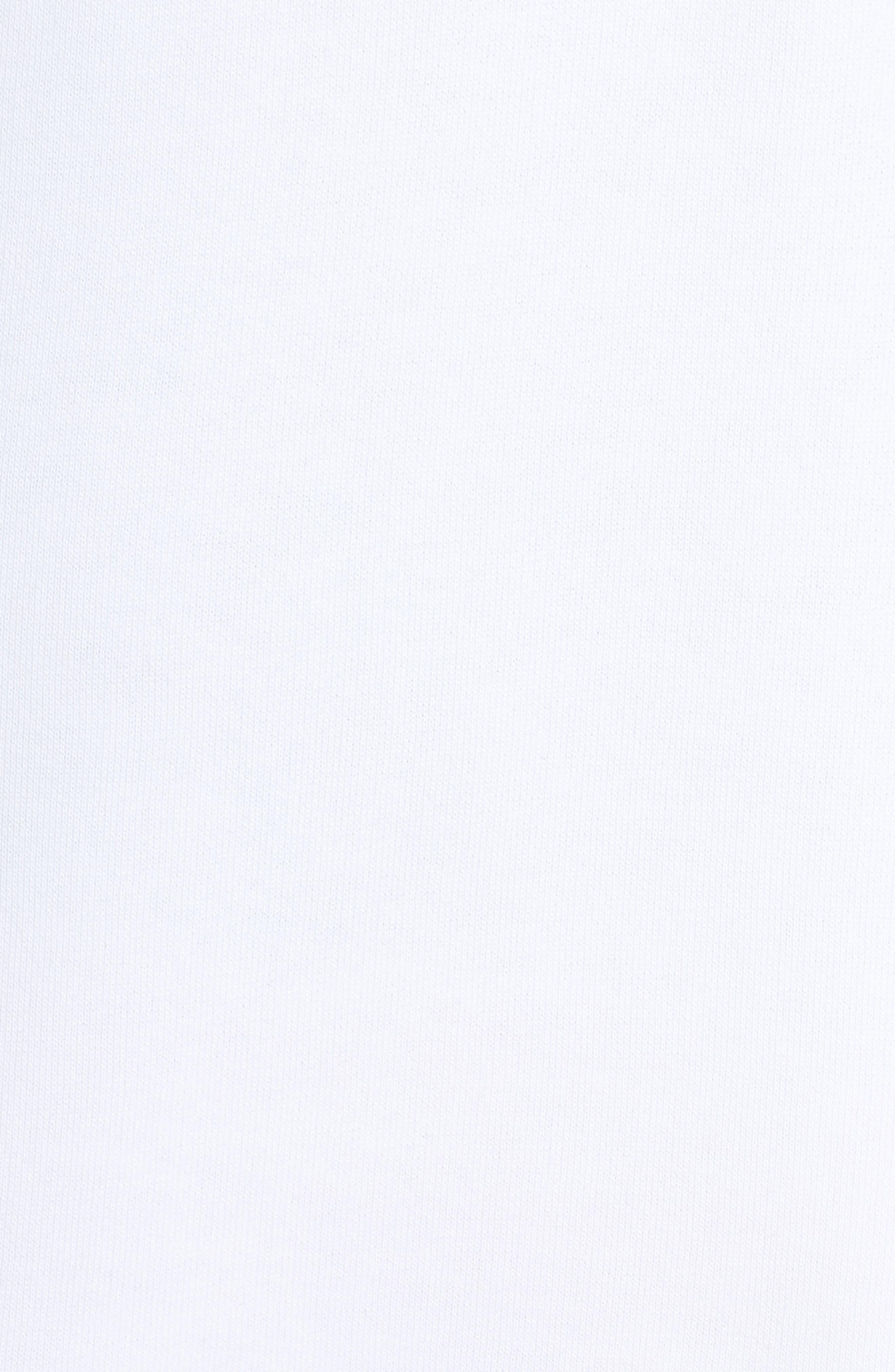 Classics T7 Logo Hoodie Sweatshirt,                             Alternate thumbnail 6, color,                             100