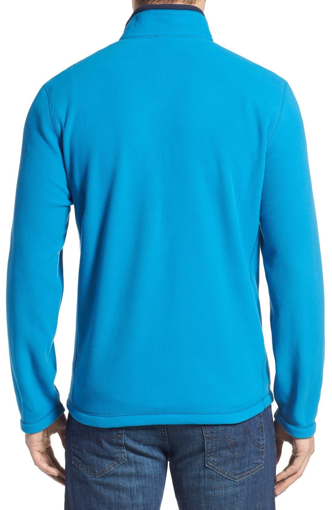 'TKA 100 Glacier' Quarter Zip Fleece Pullover,                             Alternate thumbnail 83, color,