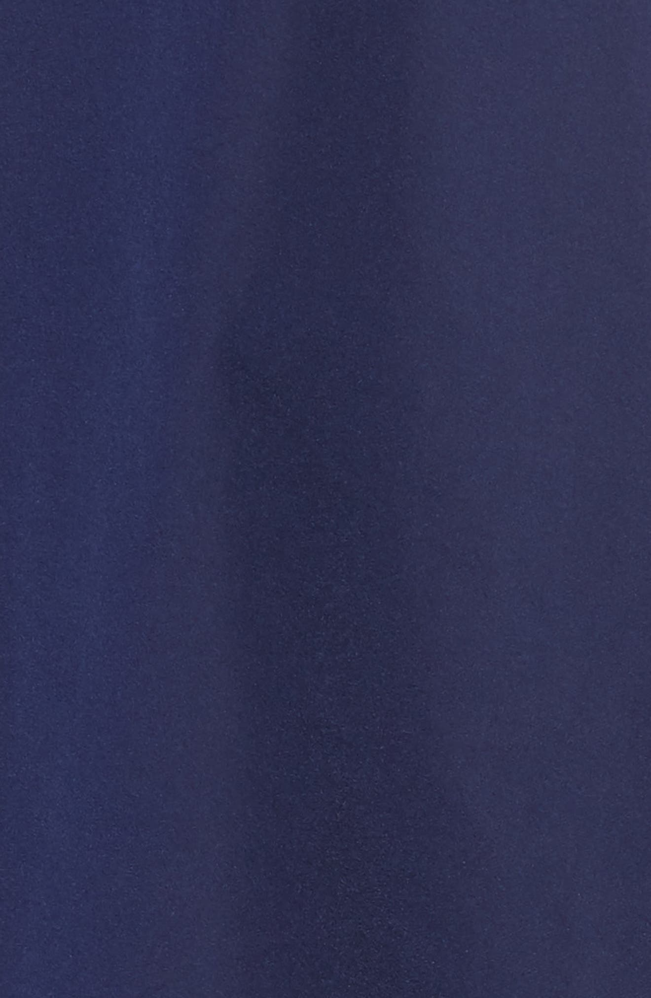 Ruched Sleeve Taffeta Dress,                             Alternate thumbnail 5, color,                             404