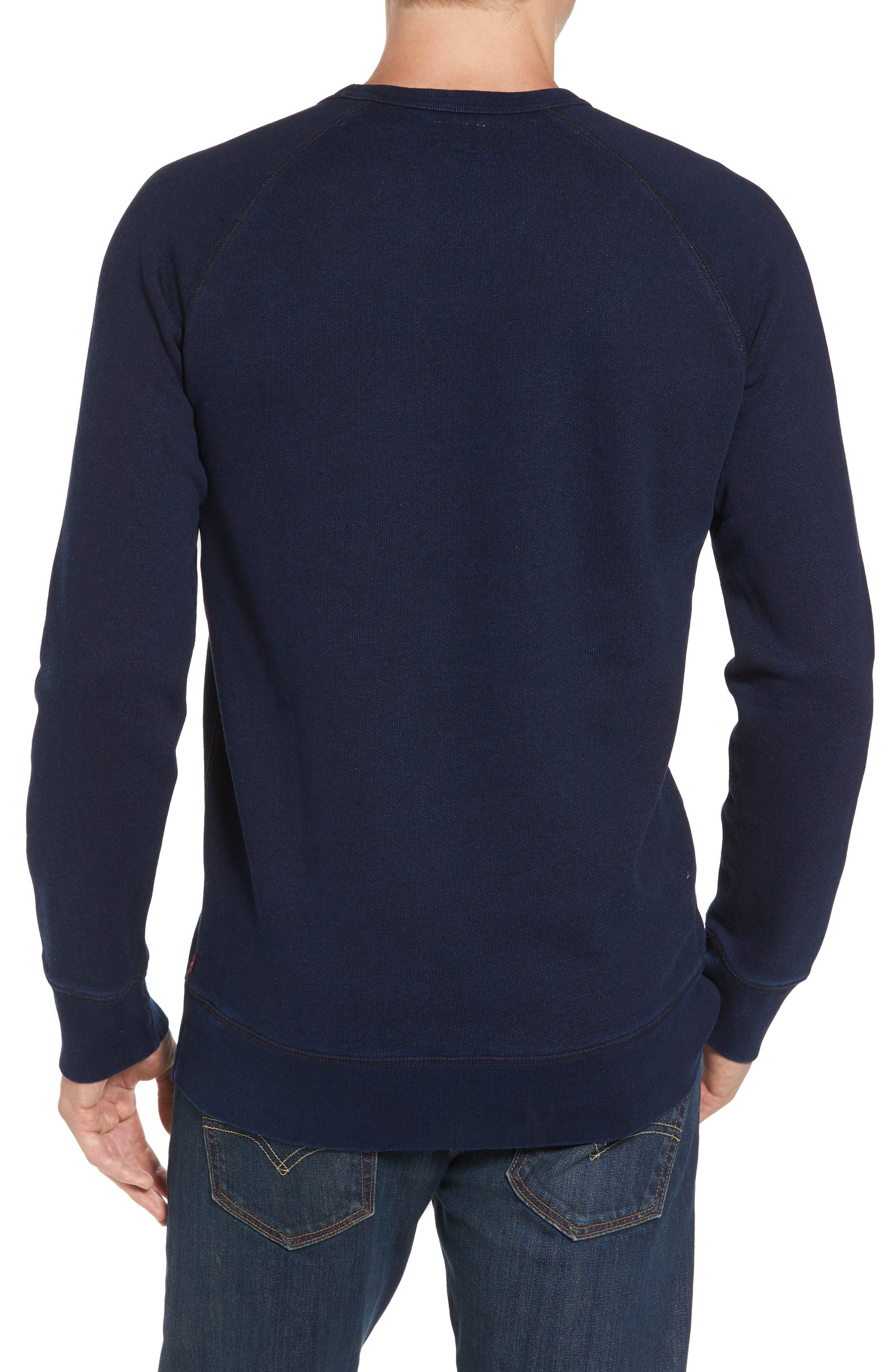 Original Crewneck Sweater,                             Alternate thumbnail 2, color,