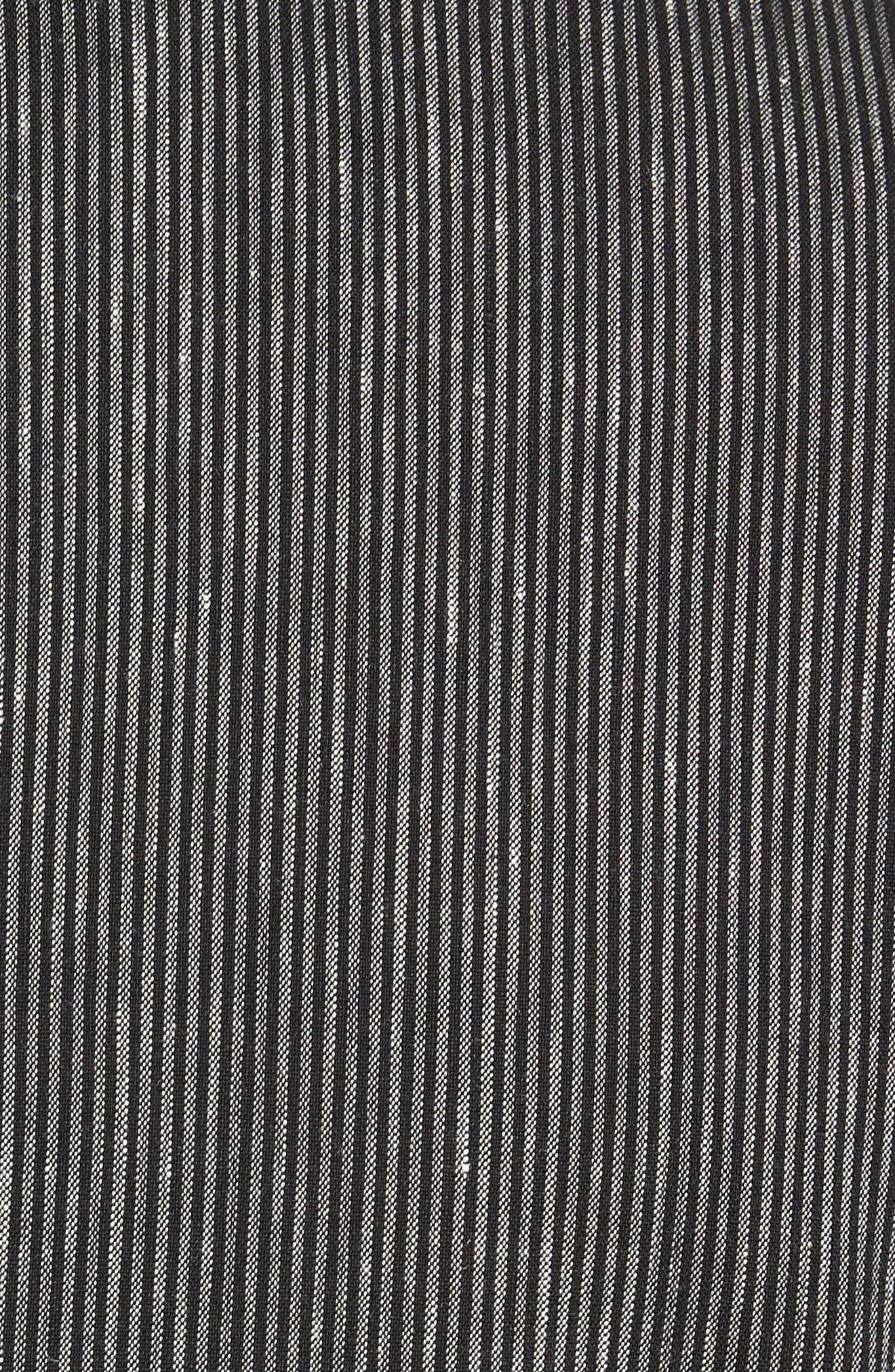 Regular Fit Stretch Stripe Linen Blend Sport Coat,                             Alternate thumbnail 6, color,                             006