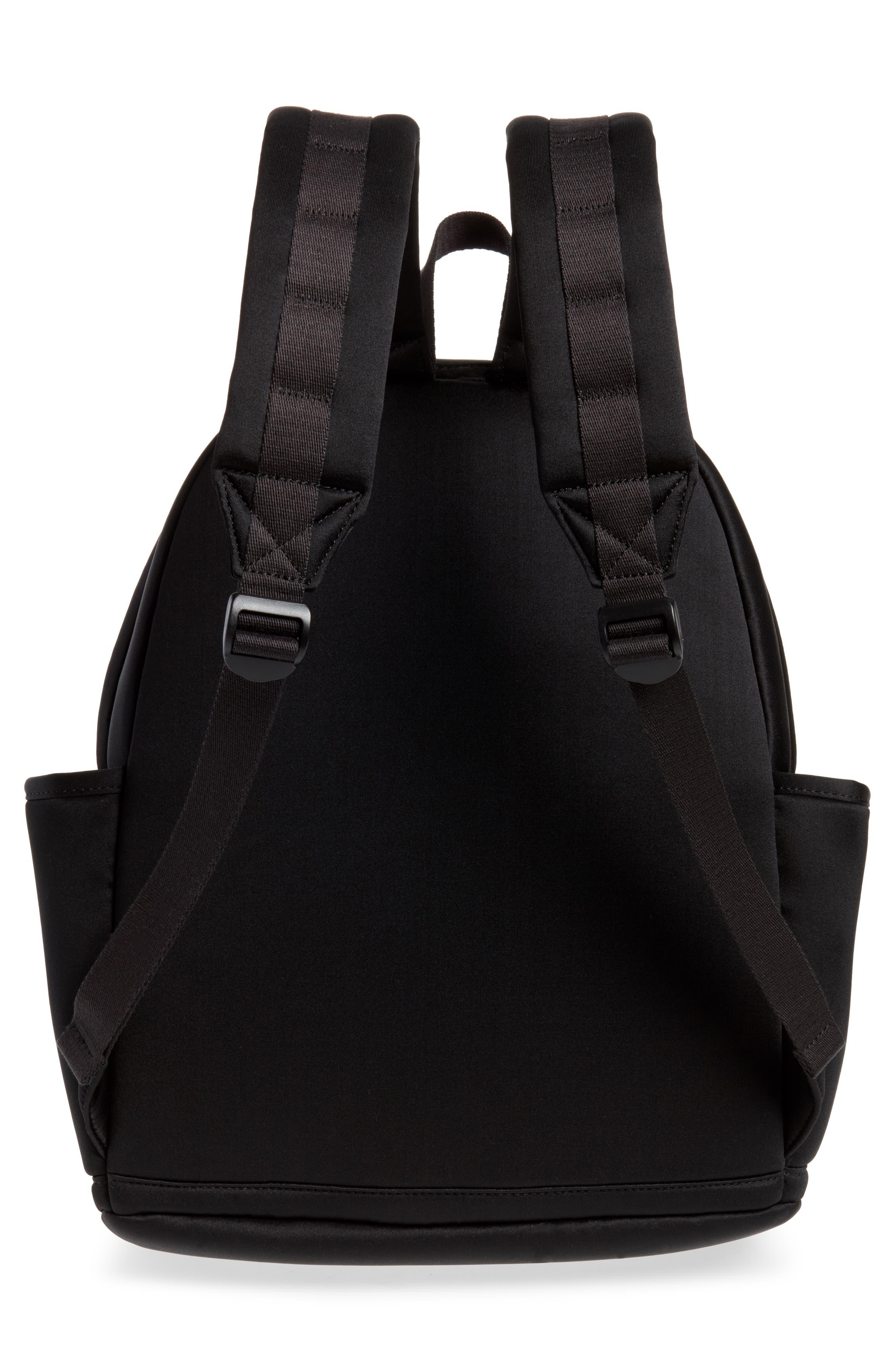 Bedford Neoprene Backpack,                             Alternate thumbnail 3, color,                             BLACK