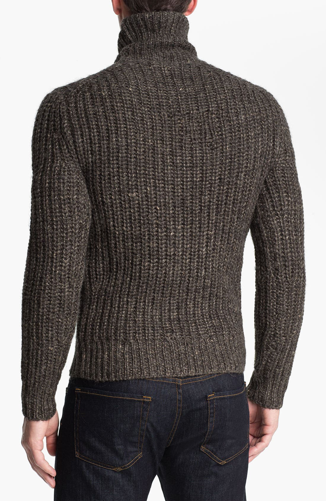 MICHAEL KORS,                             Alpaca Blend Turtleneck Sweater,                             Alternate thumbnail 3, color,                             029