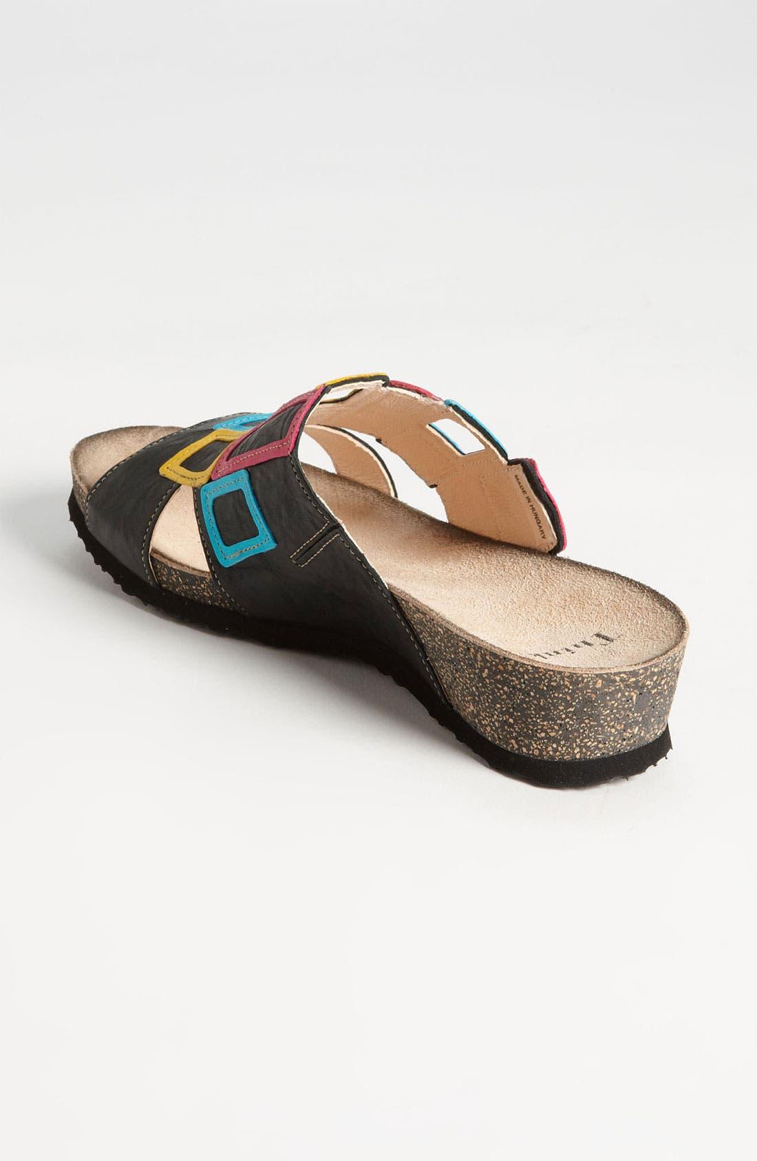 'Dumia' Sandal,                             Alternate thumbnail 3, color,                             001