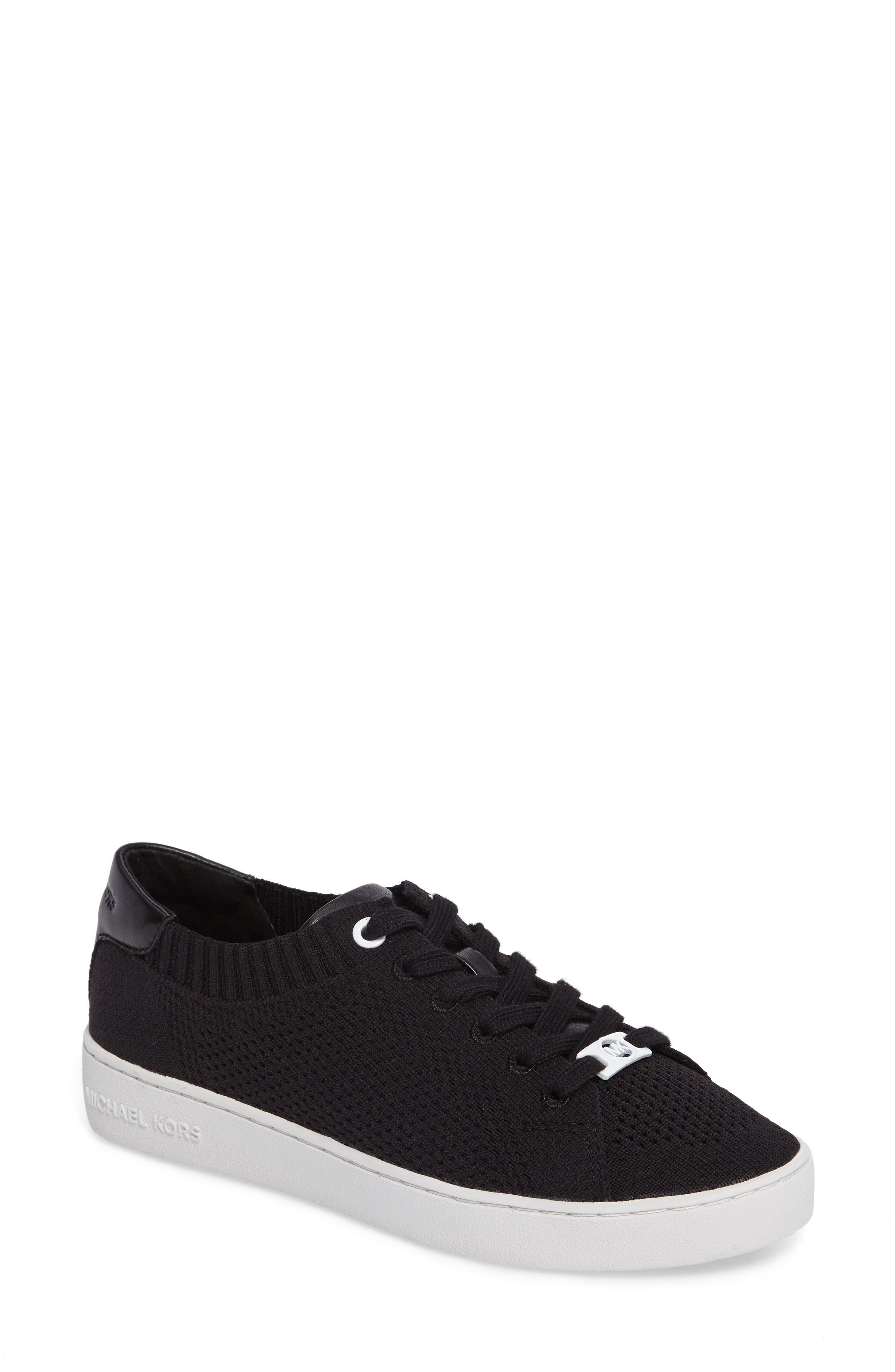 Skyler Knit Sneaker,                             Main thumbnail 1, color,                             001