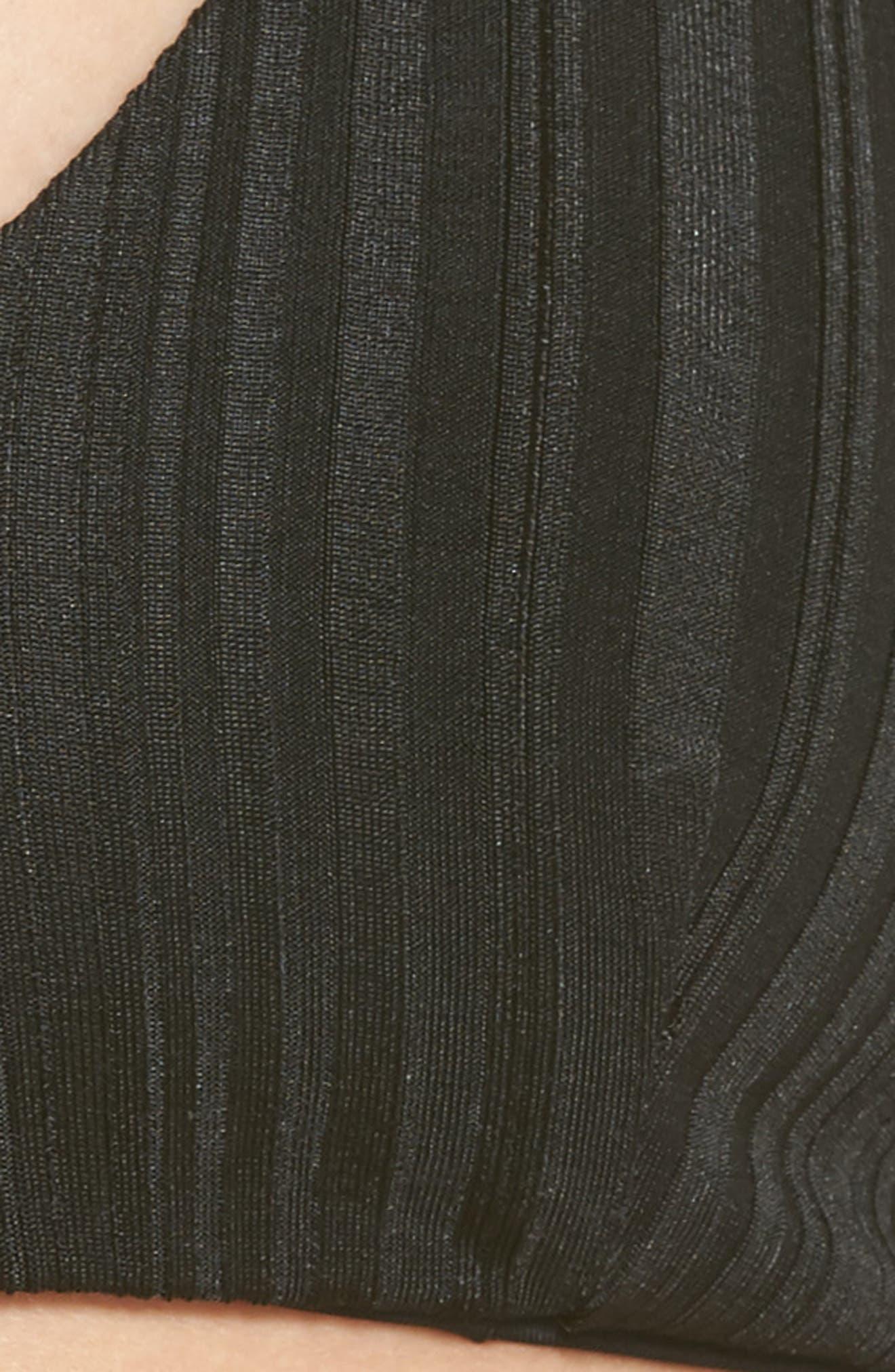 Nahla Bikini Top,                             Alternate thumbnail 5, color,                             BLACK