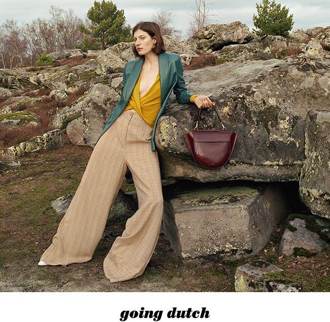 Designer Elza Wandler of Wandler handbags.