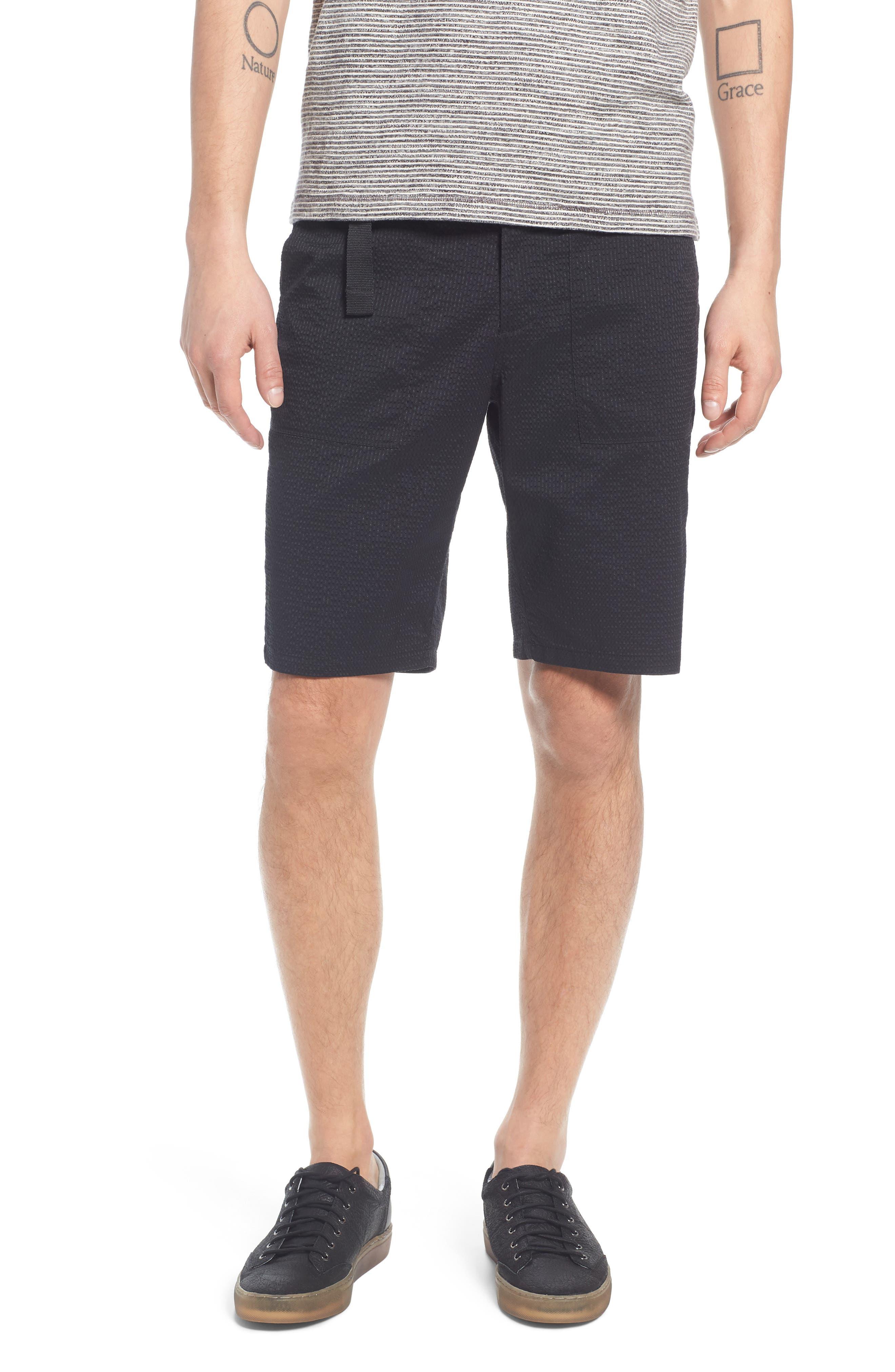 Utility Seersucker Shorts,                         Main,                         color,