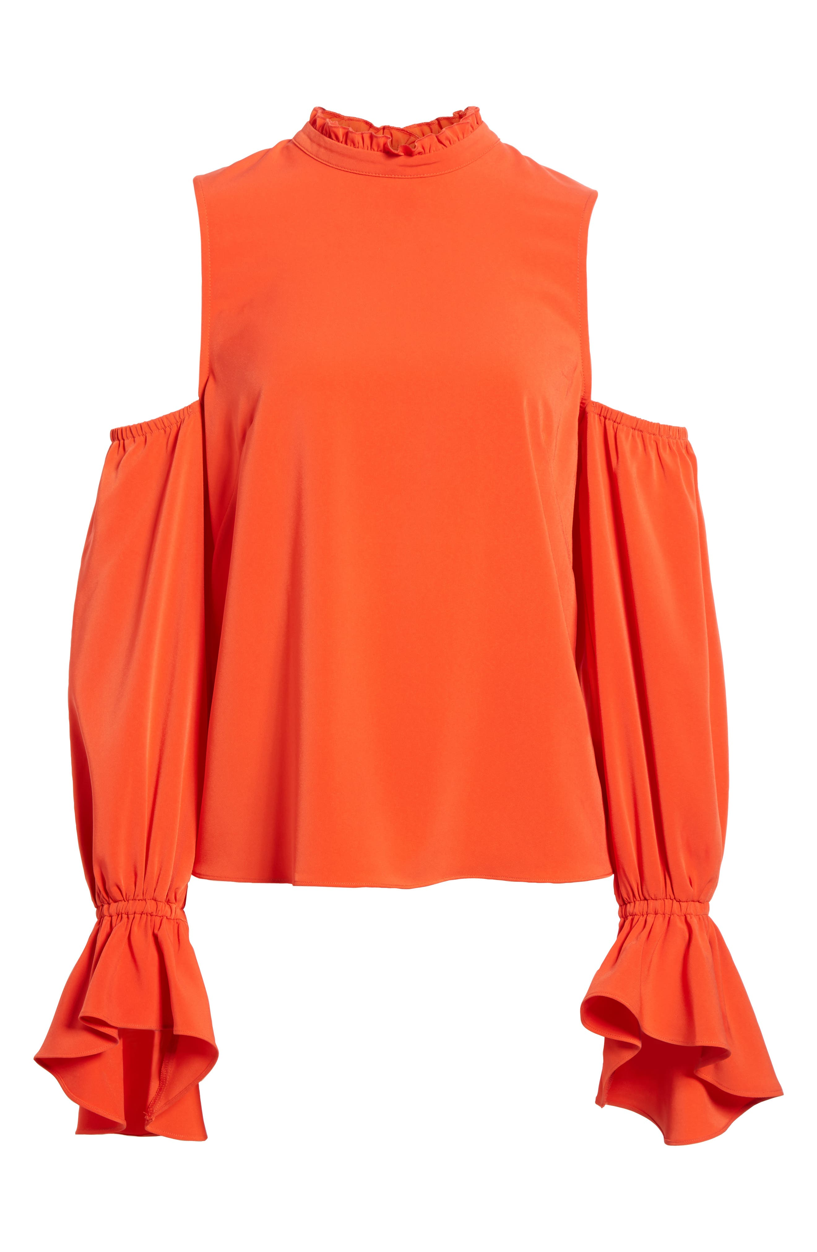 Cold Shoulder Blouse,                             Alternate thumbnail 6, color,                             603
