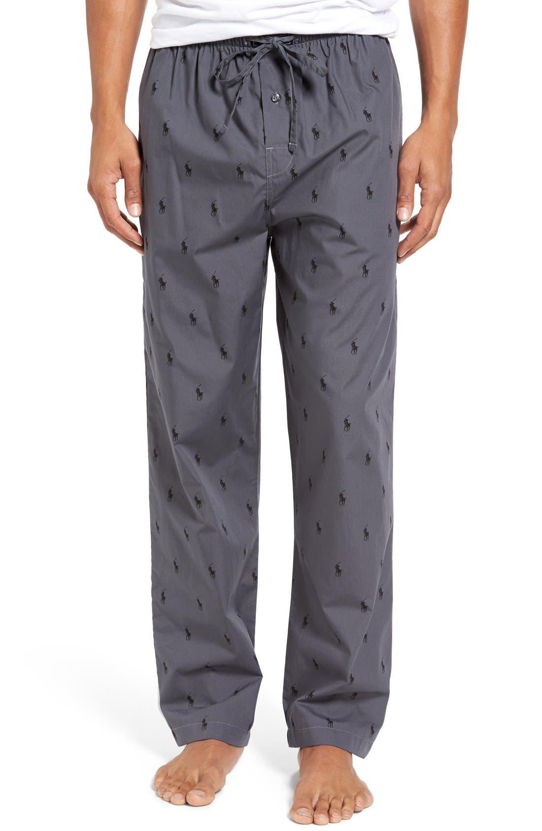Cotton Lounge Pants,                             Main thumbnail 3, color,