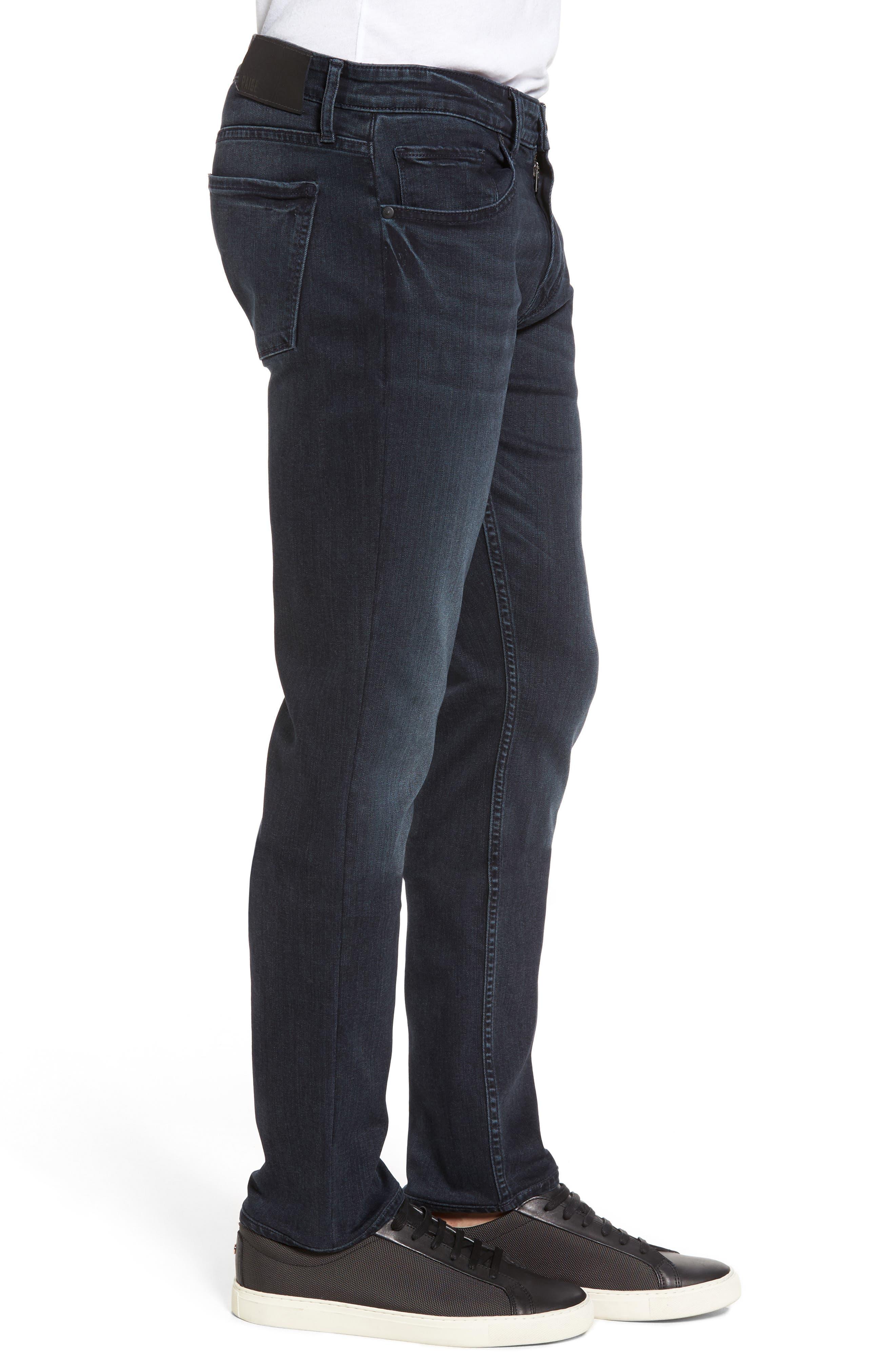 Straight Leg Jeans,                             Alternate thumbnail 3, color,