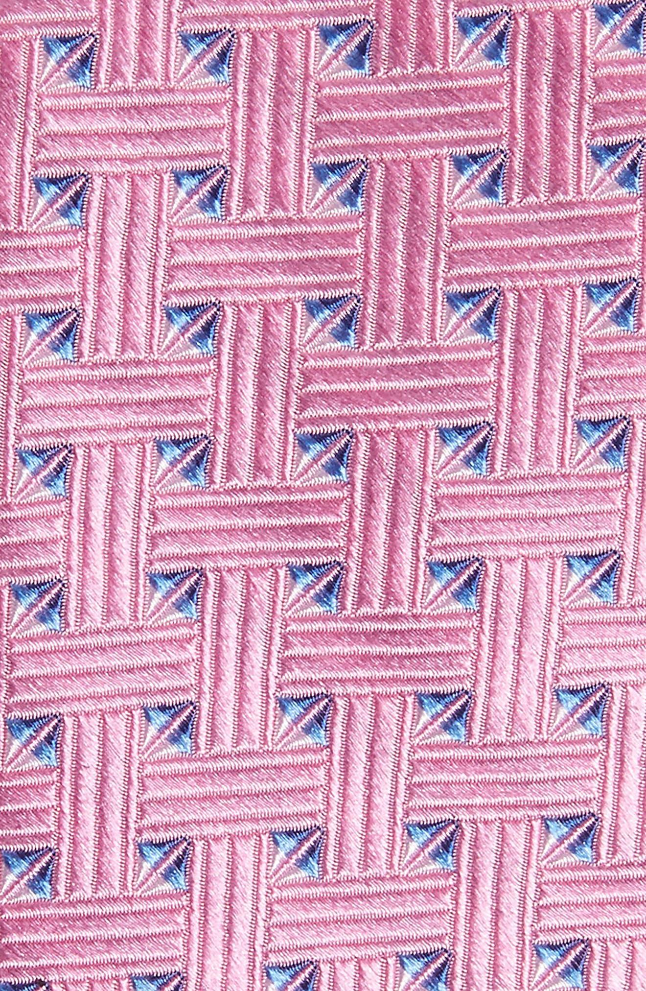 Geometric Silk Tie,                             Alternate thumbnail 12, color,