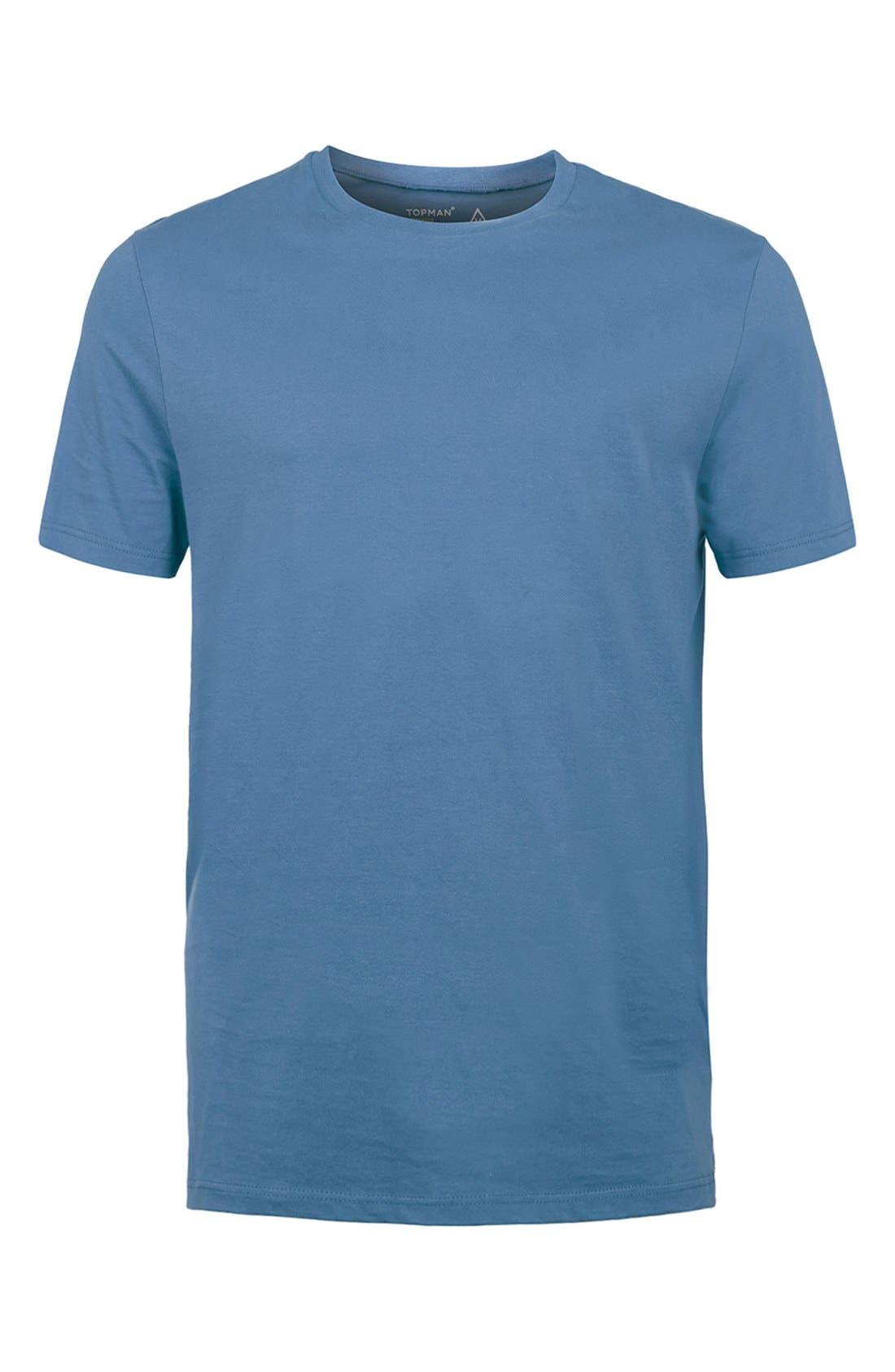 Slim Fit Crewneck T-Shirt,                             Alternate thumbnail 409, color,