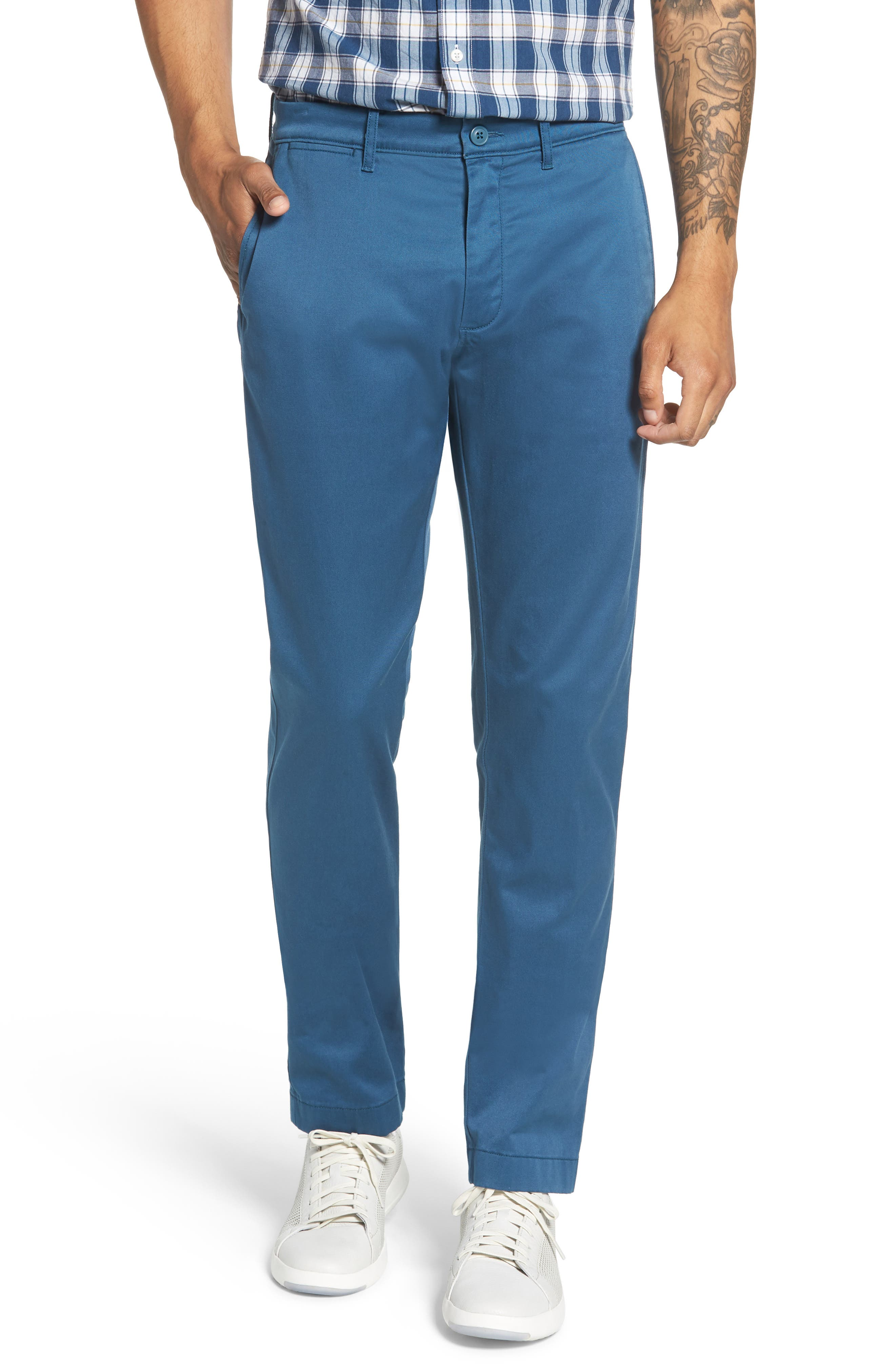 484 Slim Fit Stretch Chino Pants,                             Main thumbnail 10, color,