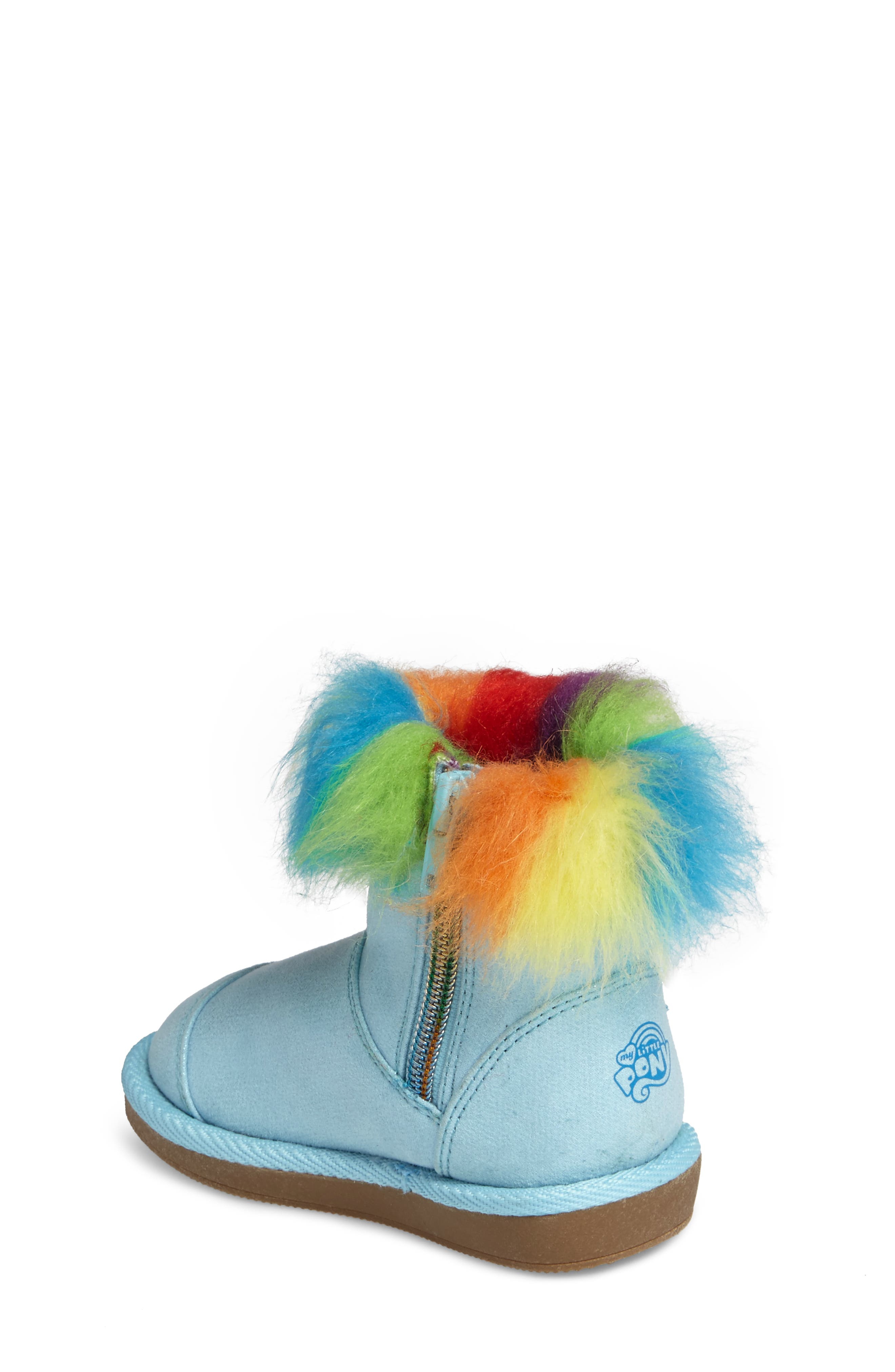 My Little Pony<sup>®</sup> Rainbow Dash Boot,                             Alternate thumbnail 2, color,                             400