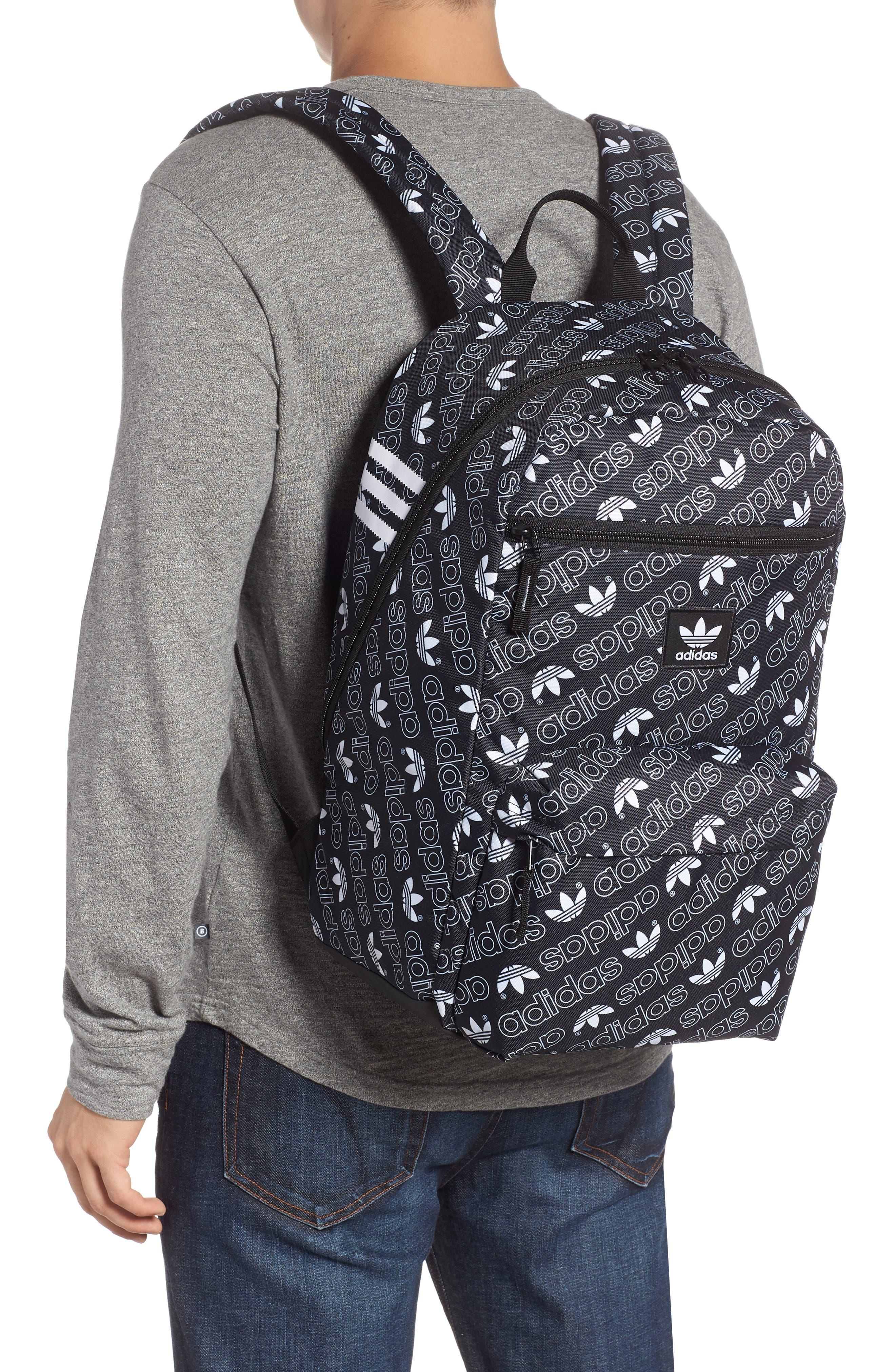 Monogram National Backpack,                             Alternate thumbnail 2, color,                             BLACK MONOGRAM