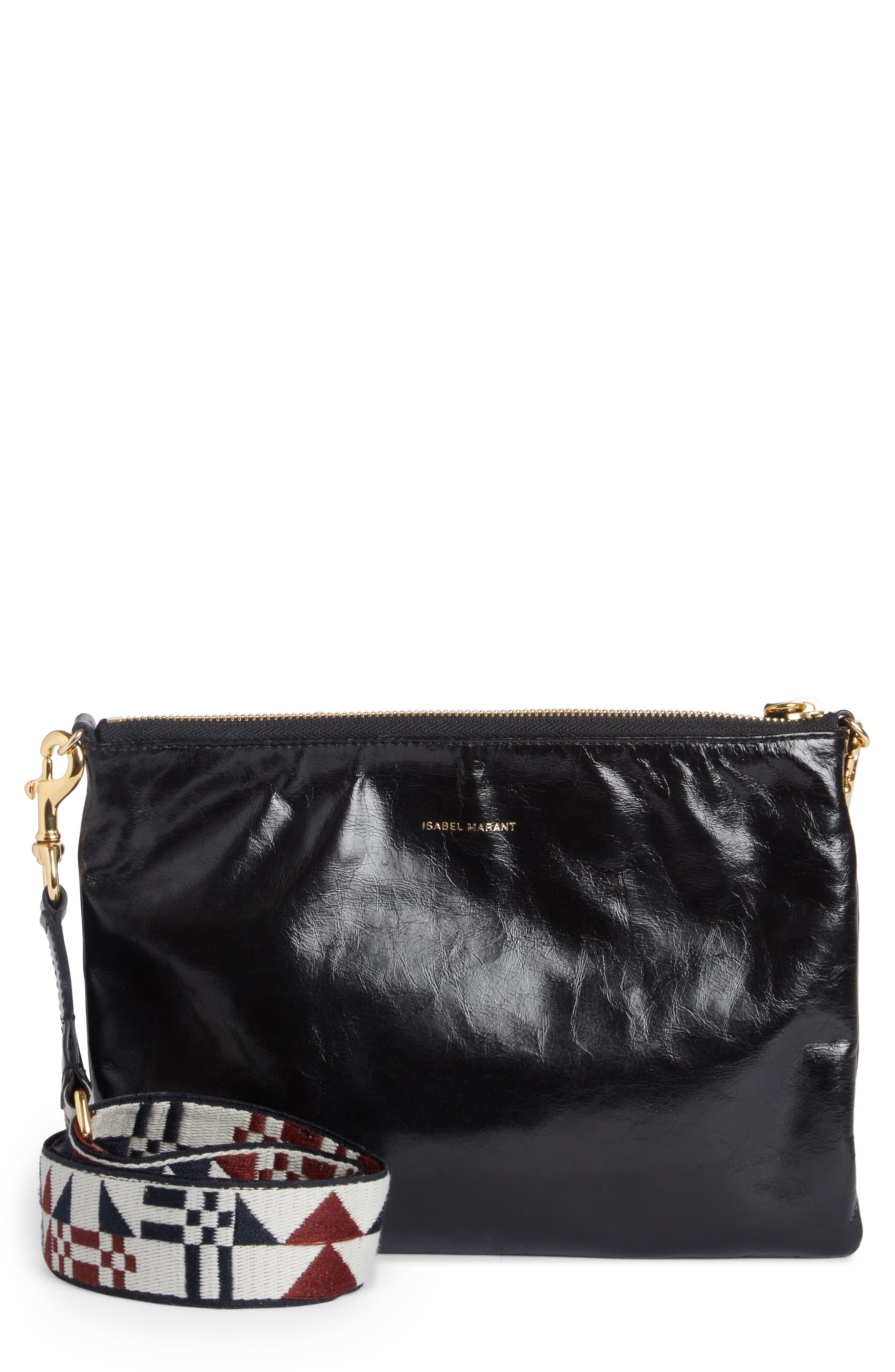 Nessah Convertible Crossbody Clutch, Main, color, 001