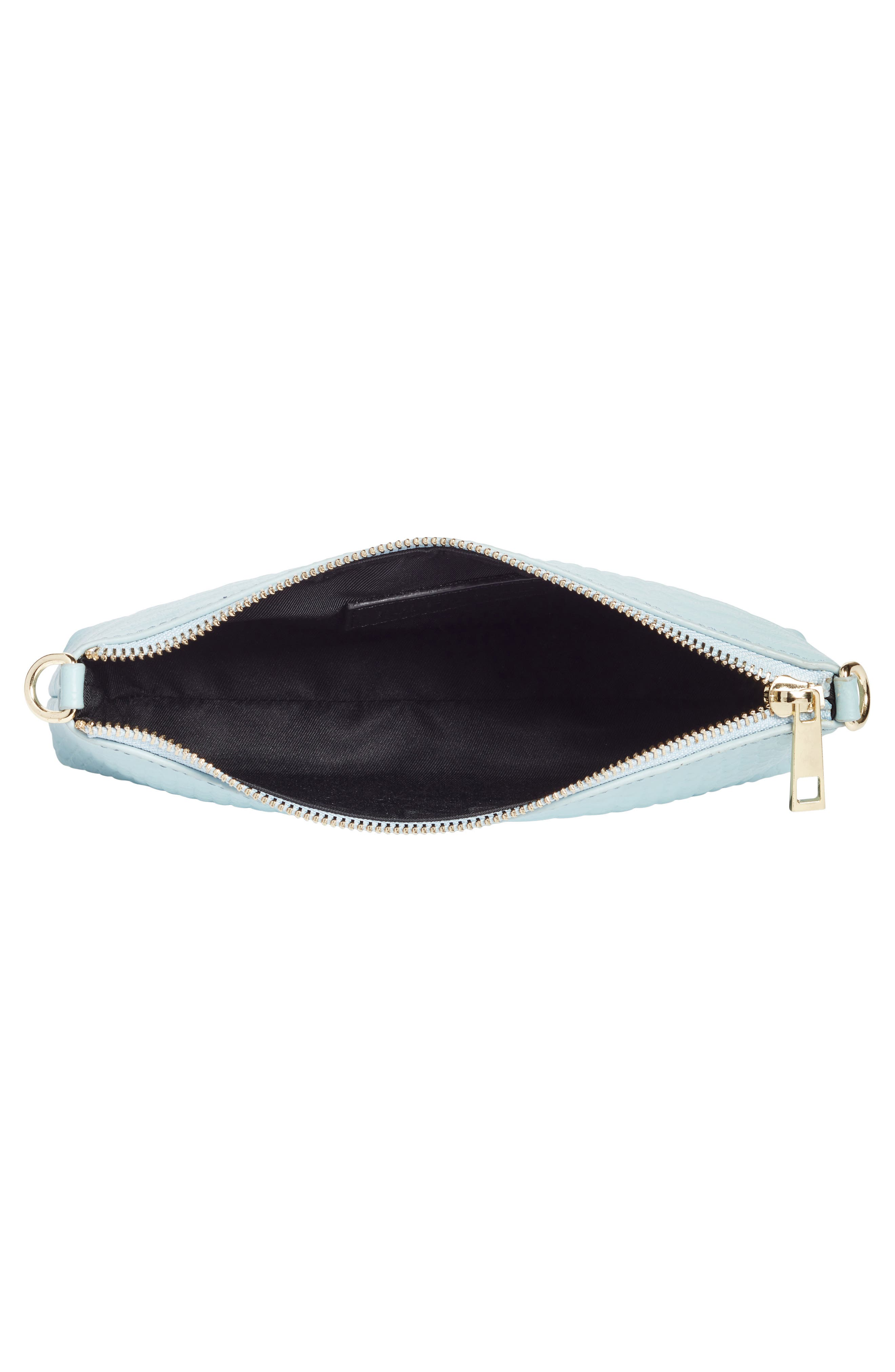 Lola Textured Faux Leather Crossbody Bag,                             Alternate thumbnail 7, color,