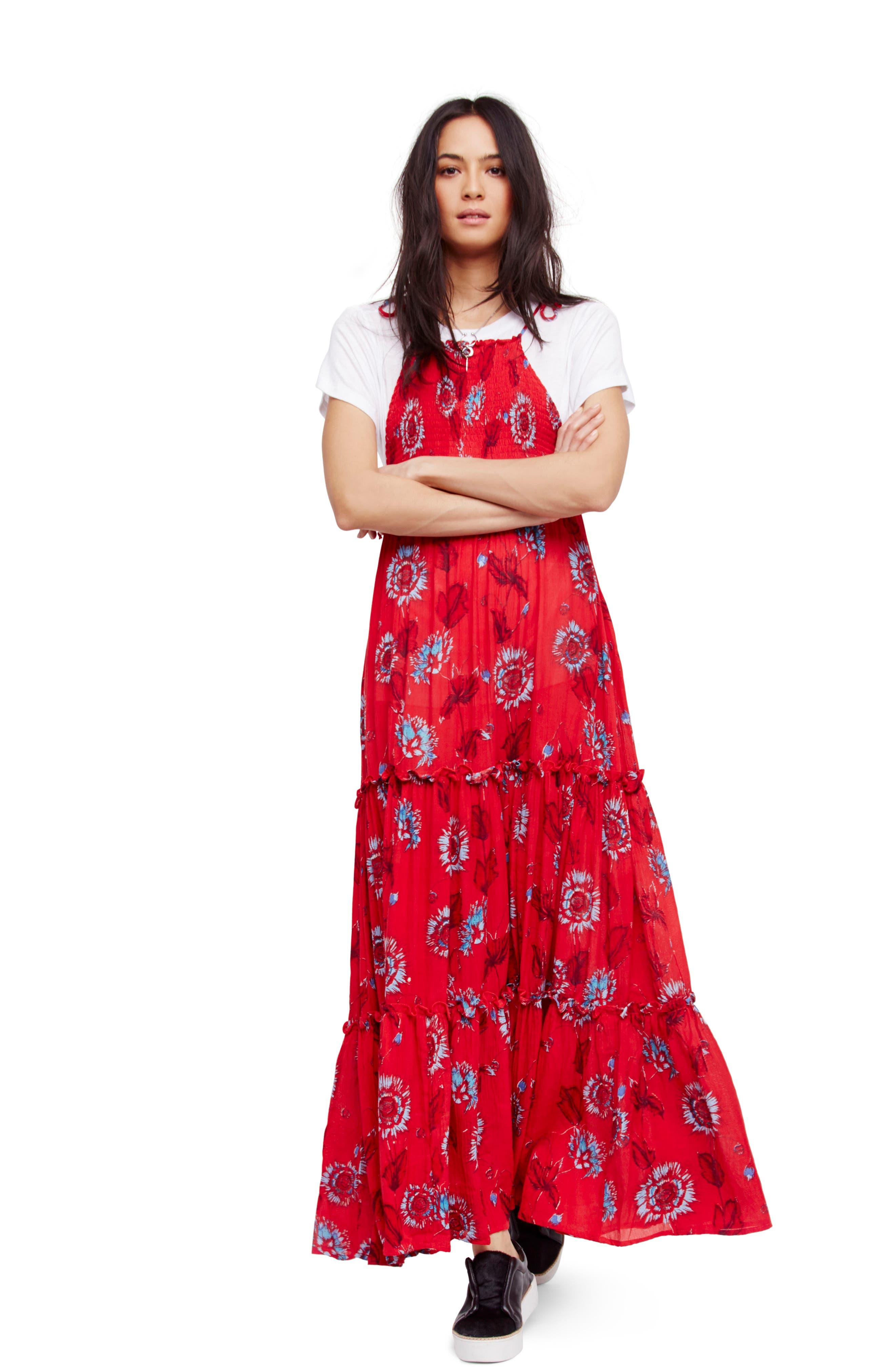 Garden Party Maxi Dress,                             Main thumbnail 7, color,