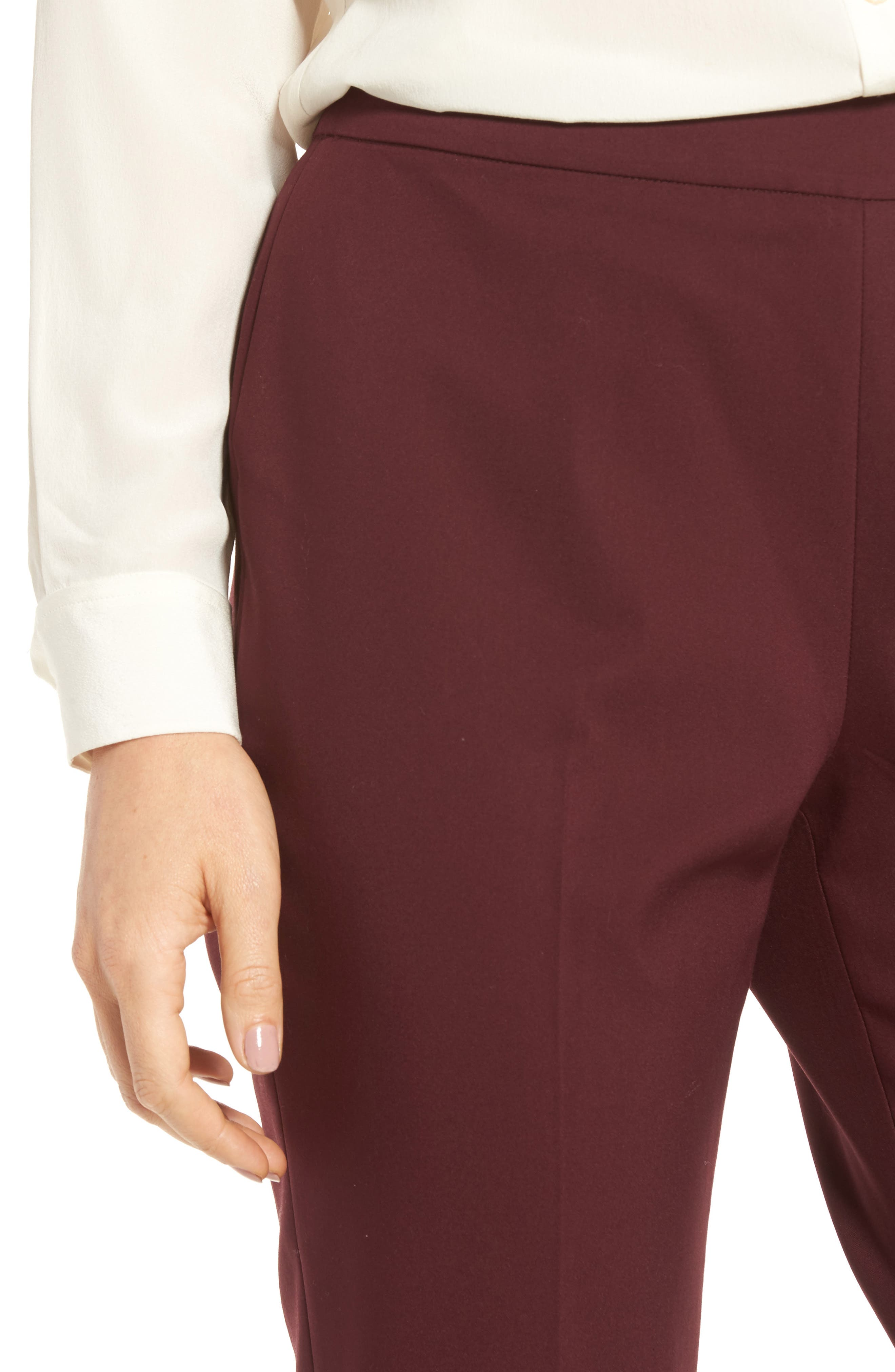 Jackie Pull-On Ankle Pants,                             Alternate thumbnail 8, color,