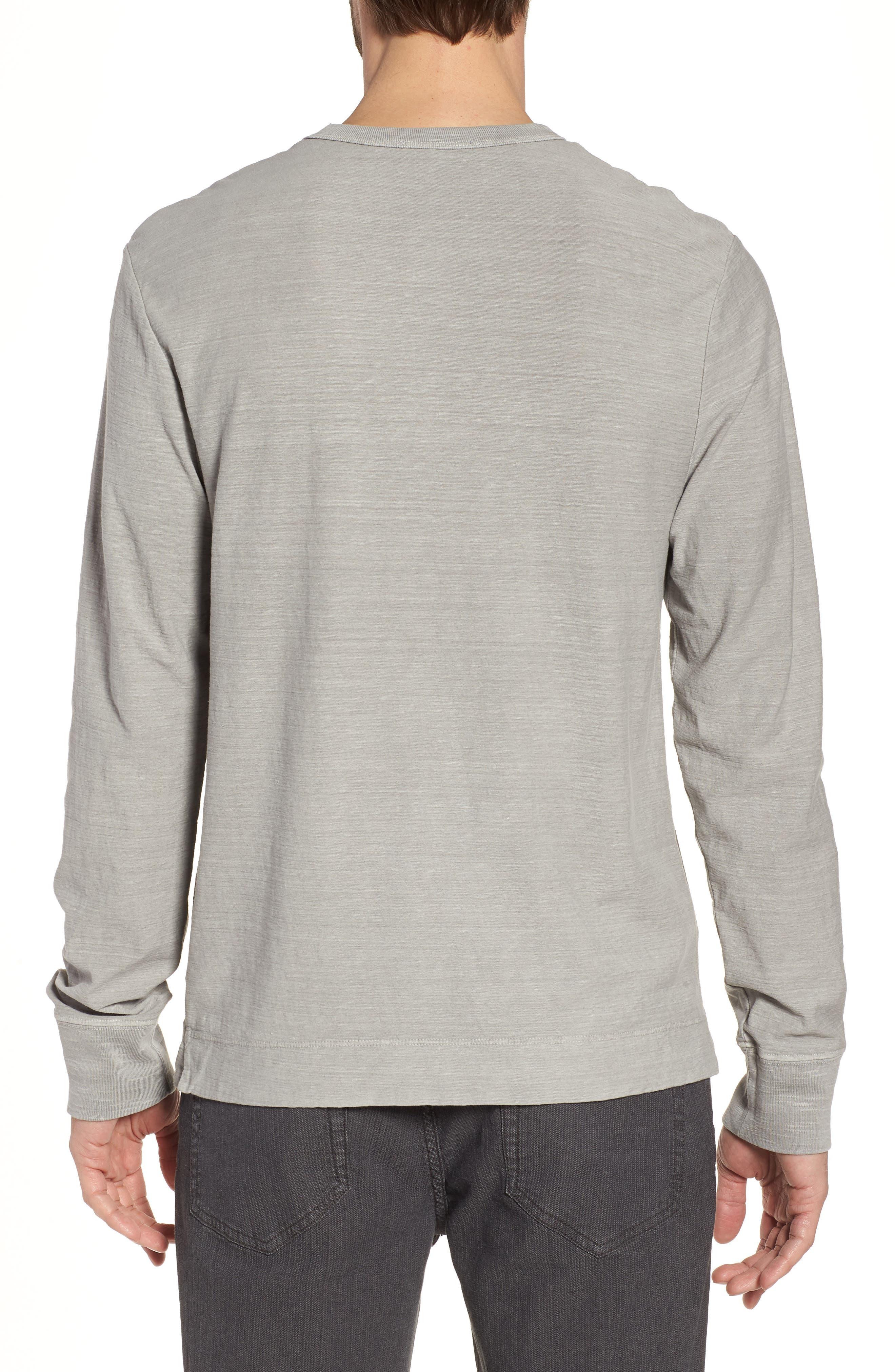 Regular Fit Slub Crewneck T-Shirt,                             Alternate thumbnail 2, color,                             056