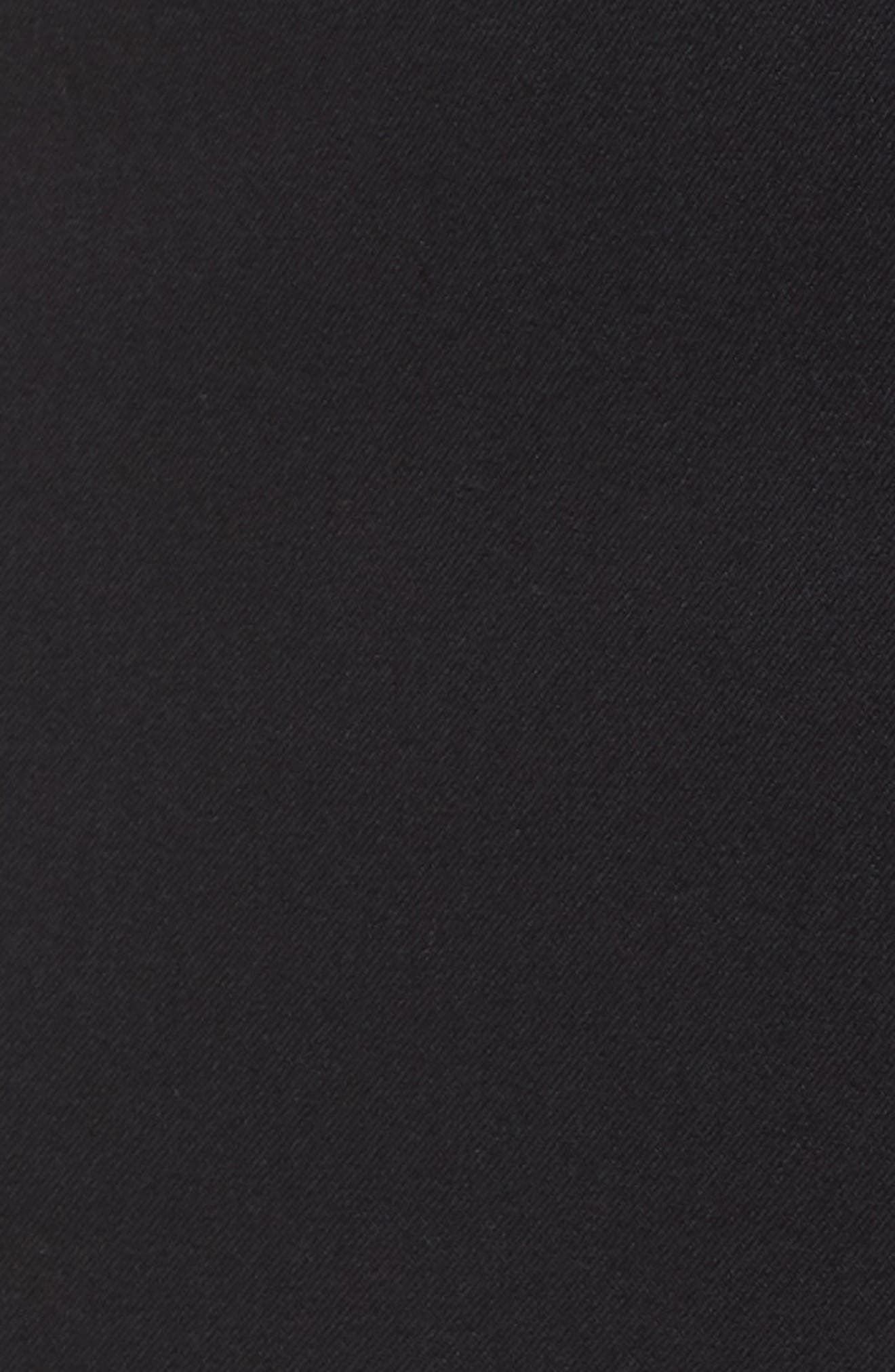 Zip Taper Pants,                             Alternate thumbnail 6, color,                             BLACK