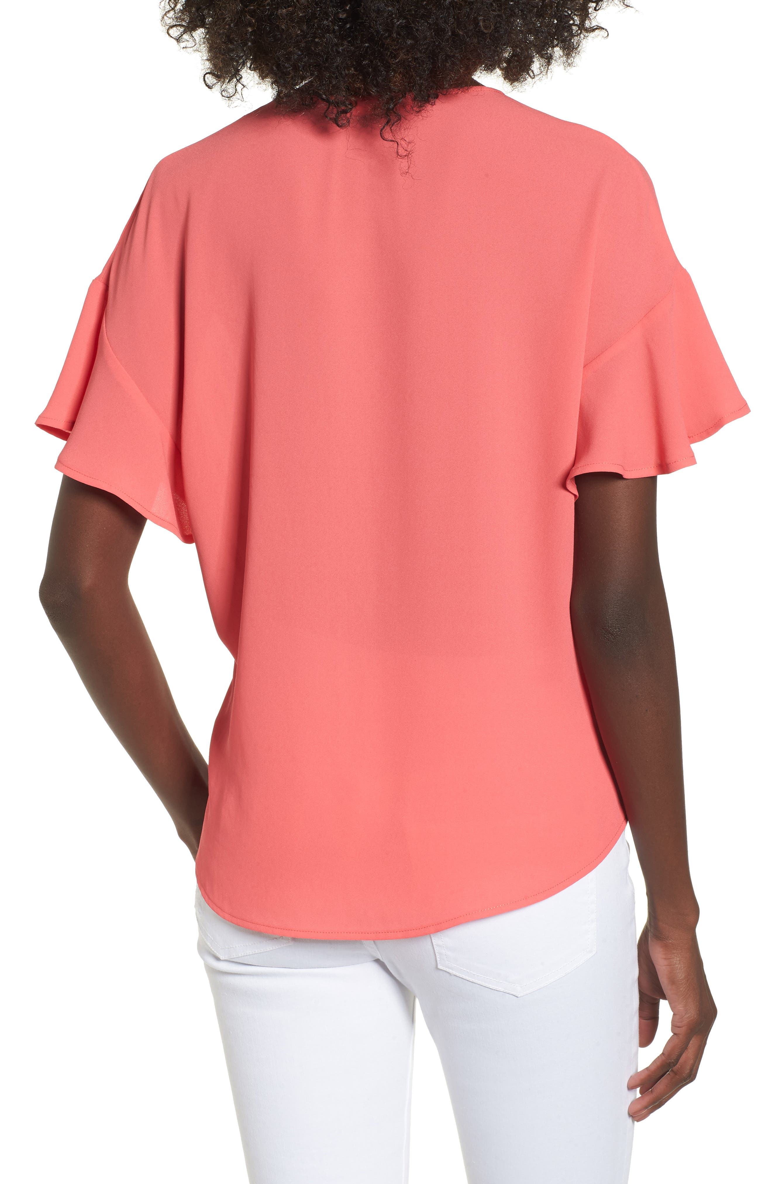 Crepe Tee,                             Alternate thumbnail 16, color,