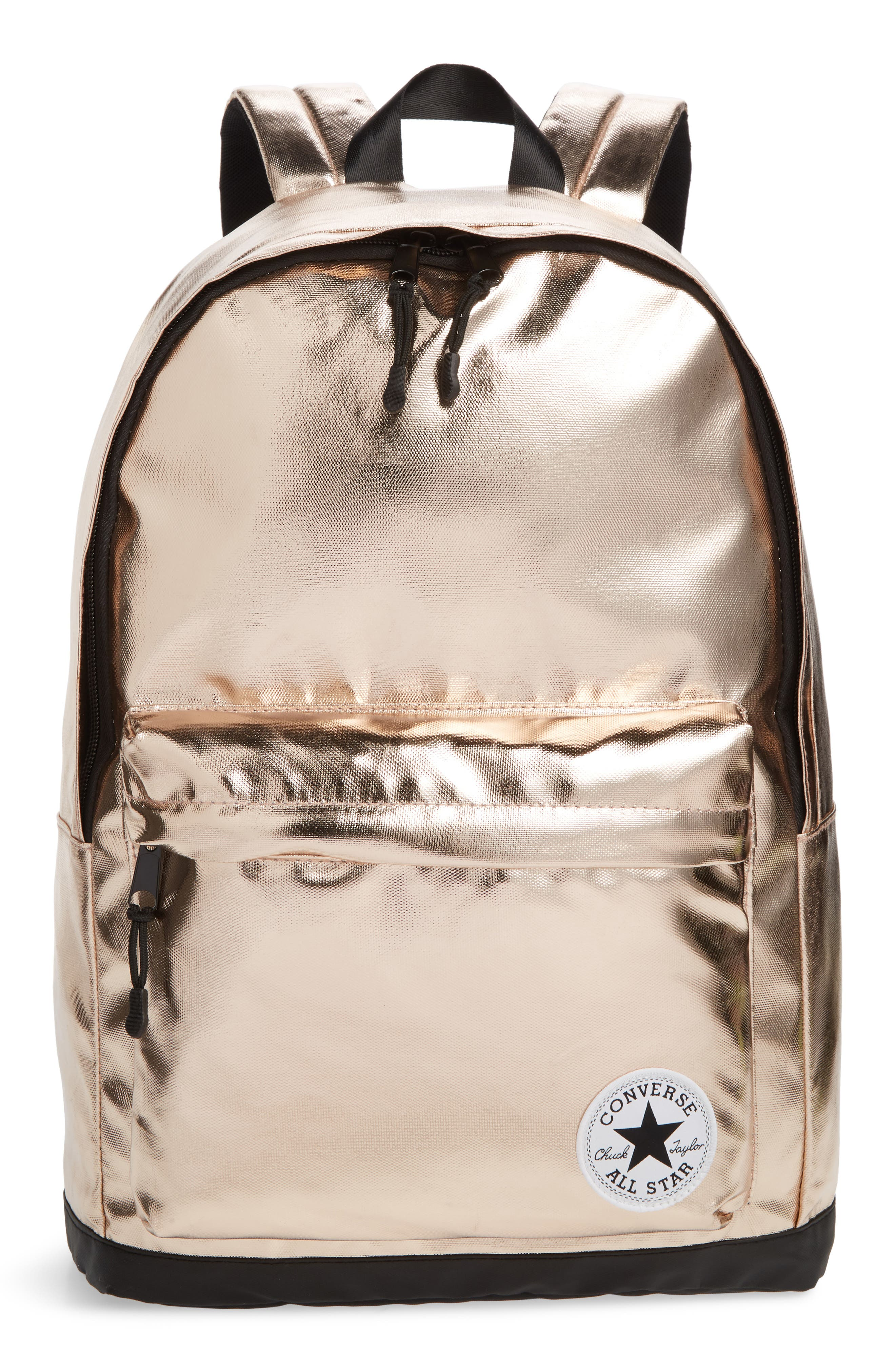 Boys Converse Metallic Backpack  Red
