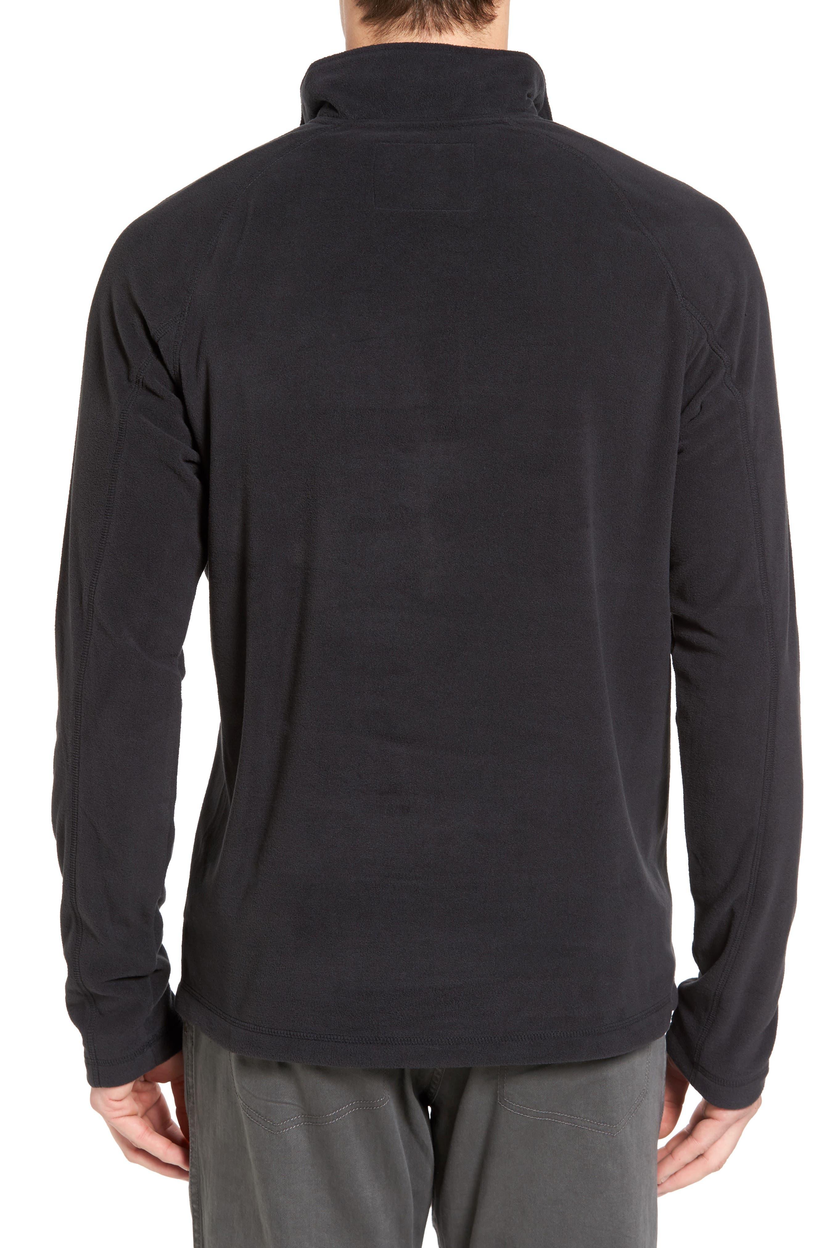 Utility Quarter Zip Fleece Sweater,                             Alternate thumbnail 2, color,                             002
