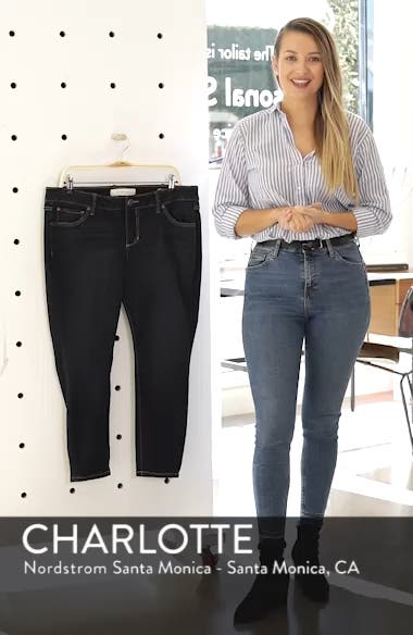 Stretch Ankle Skinny Jeans, sales video thumbnail